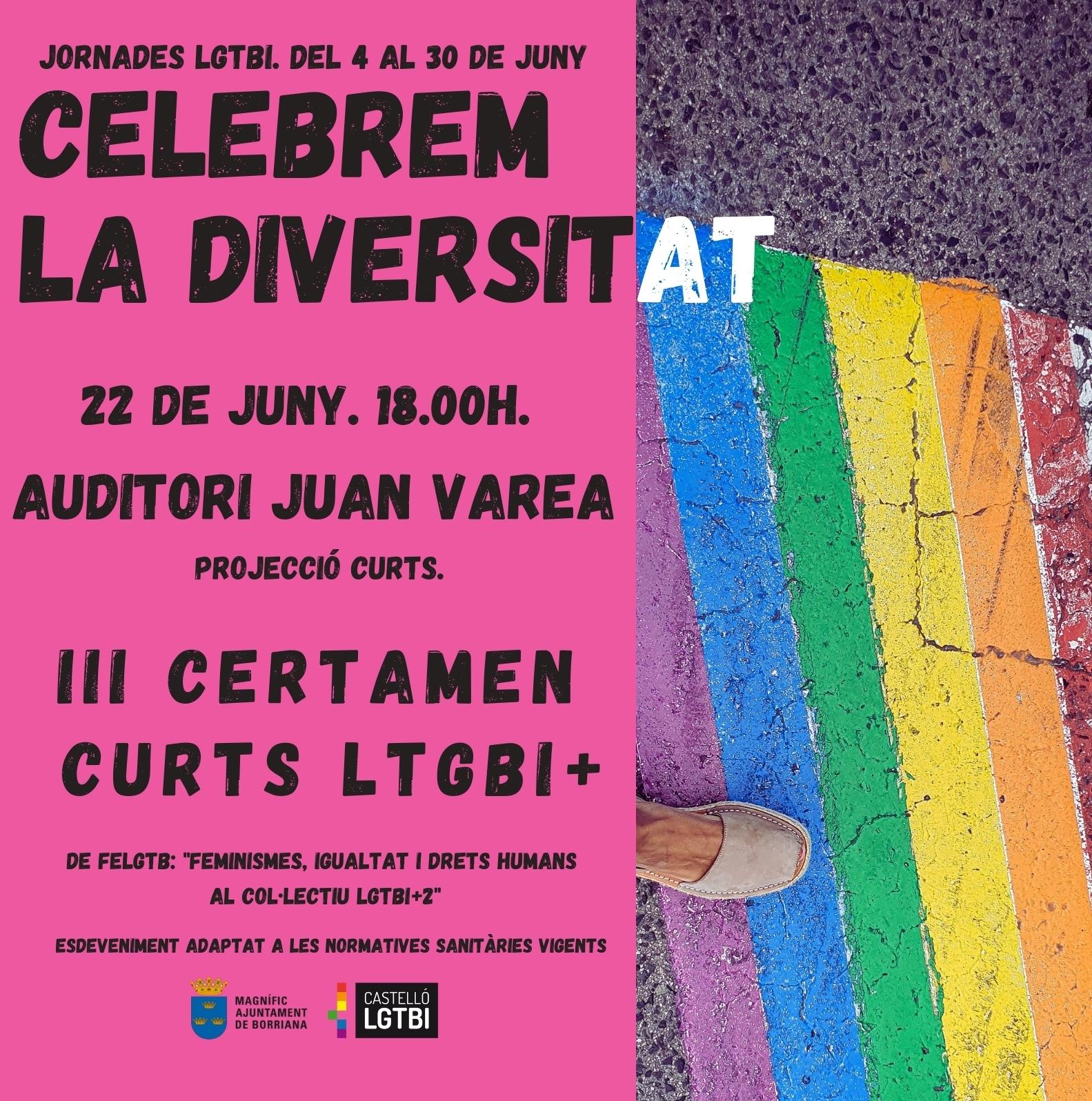 Cuentacuentos y cortos amenizan la semana previa al Día del Orgullo LGTBI+ en Burriana
