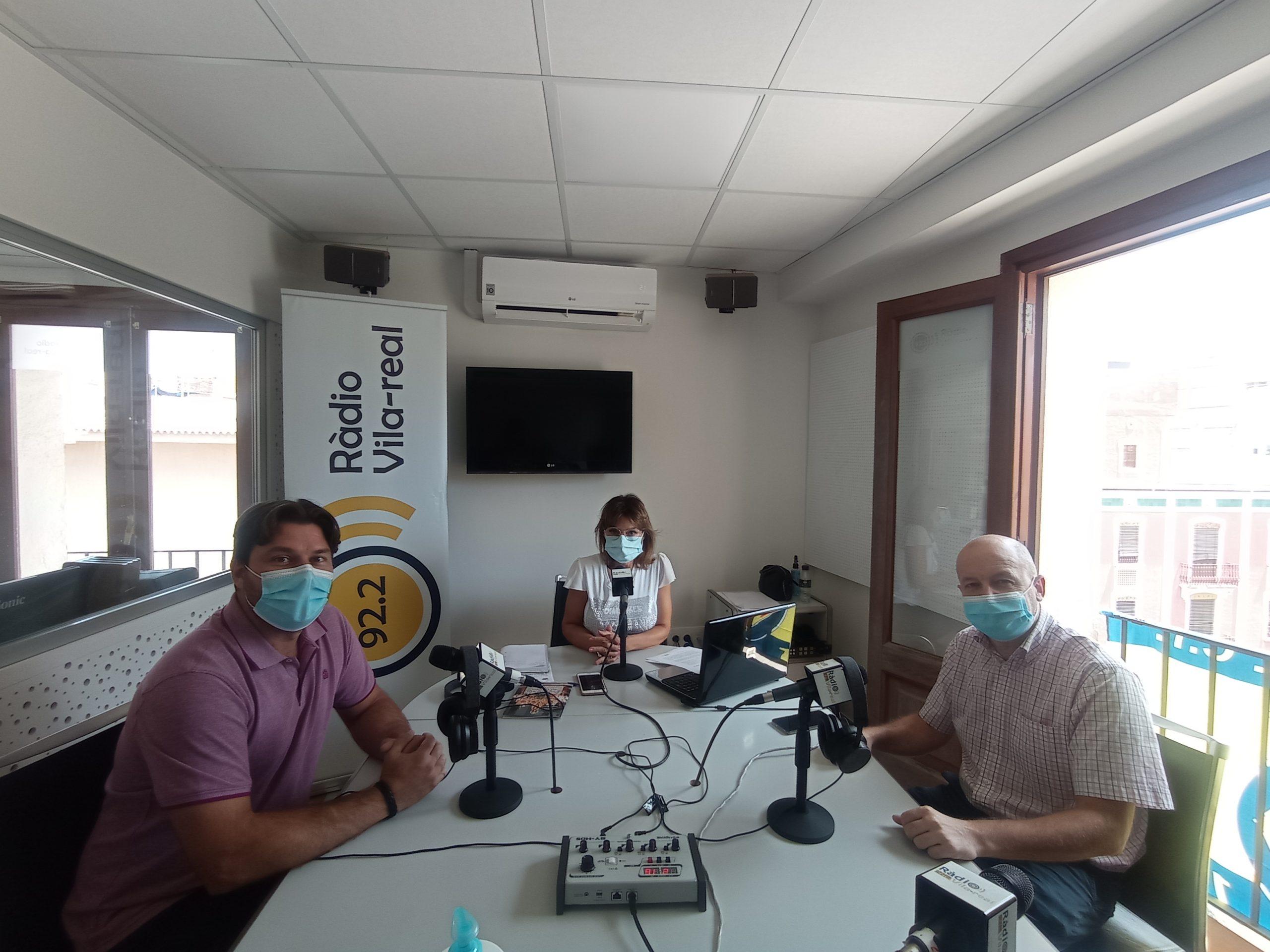 Entrevista al secretario de Fundació Caixa Rural de Vila-real, Josep Ramos, y coordinador de Nuevas Tecnologías de Fundación Manantial, Luis Cuni