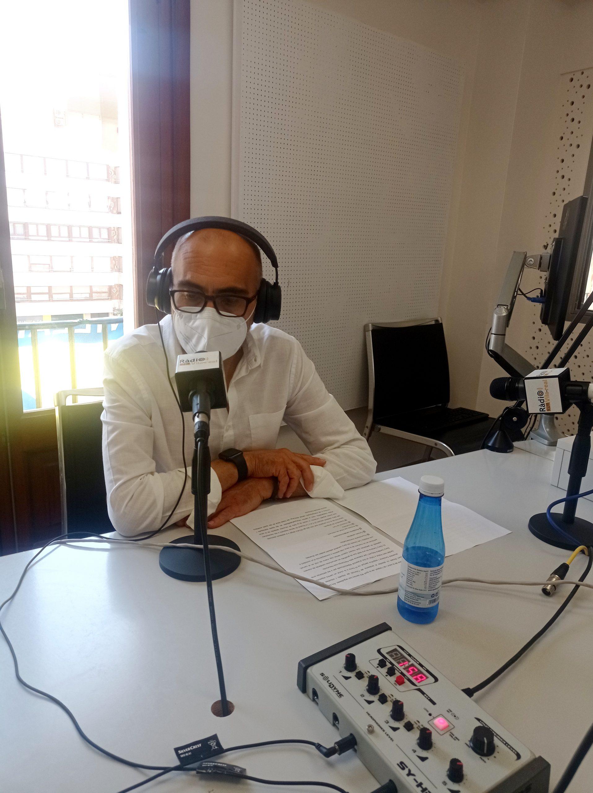 Entrevista al presidente de la Caixa Rural de Vila-real, Enric Portalés