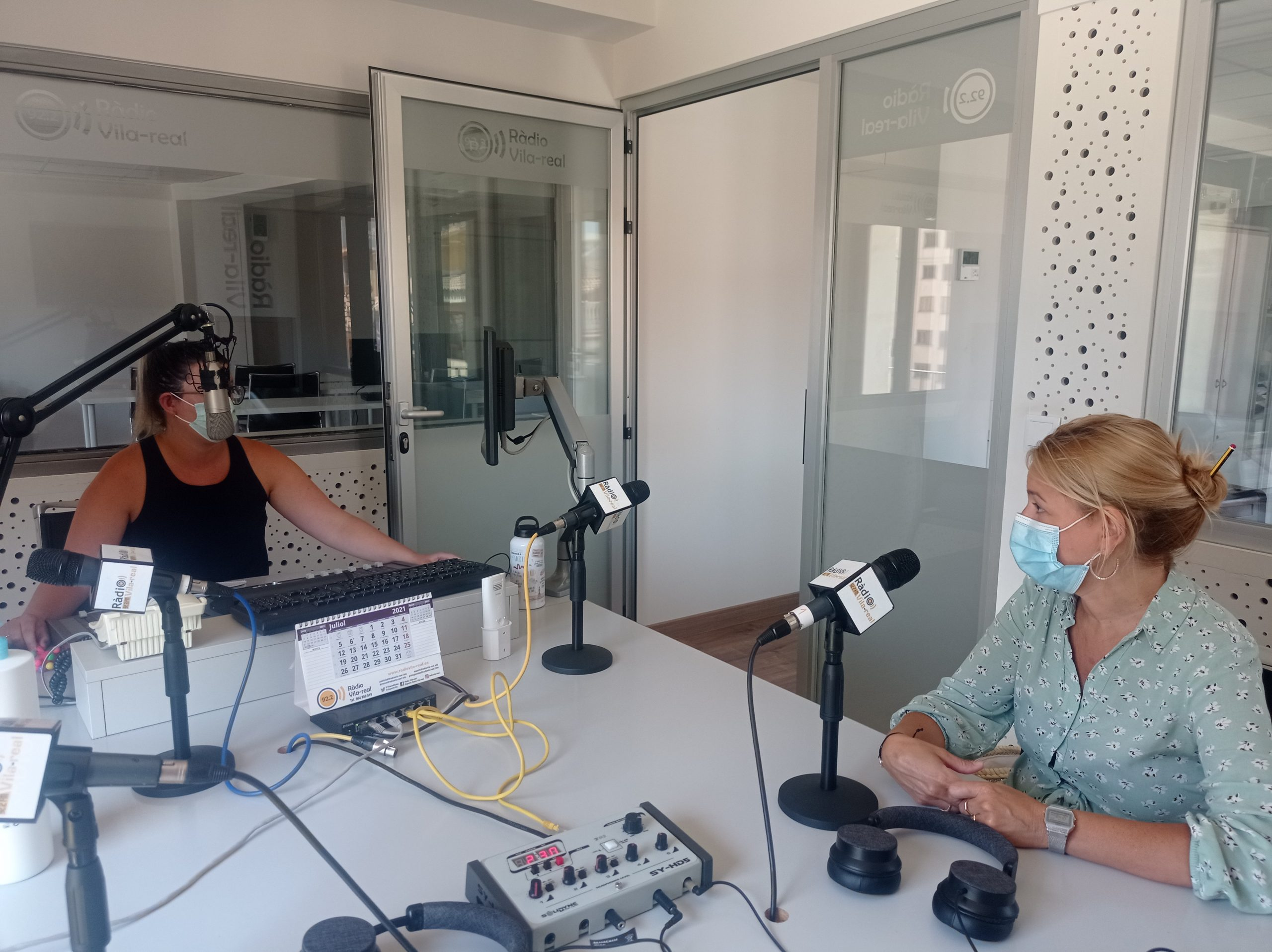 Entrevista a la concejala de Seguridad Ciudadana y Sanidad de Vila-real, Silvia Gómez