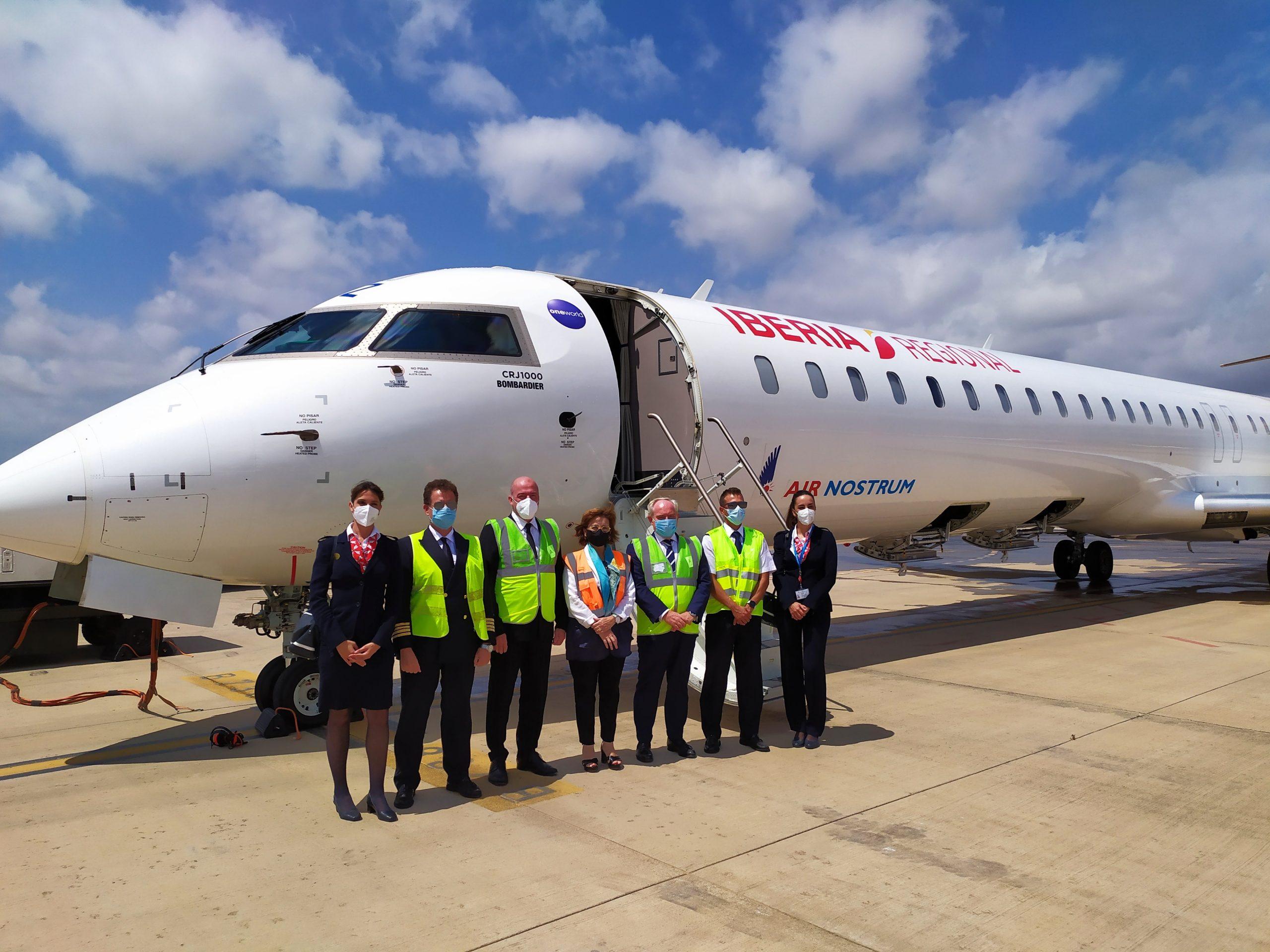 El aeropuerto de Castellón pone en marcha la nueva ruta de Sevilla con dos vuelos semanales hasta el próximo 3 de septiembre