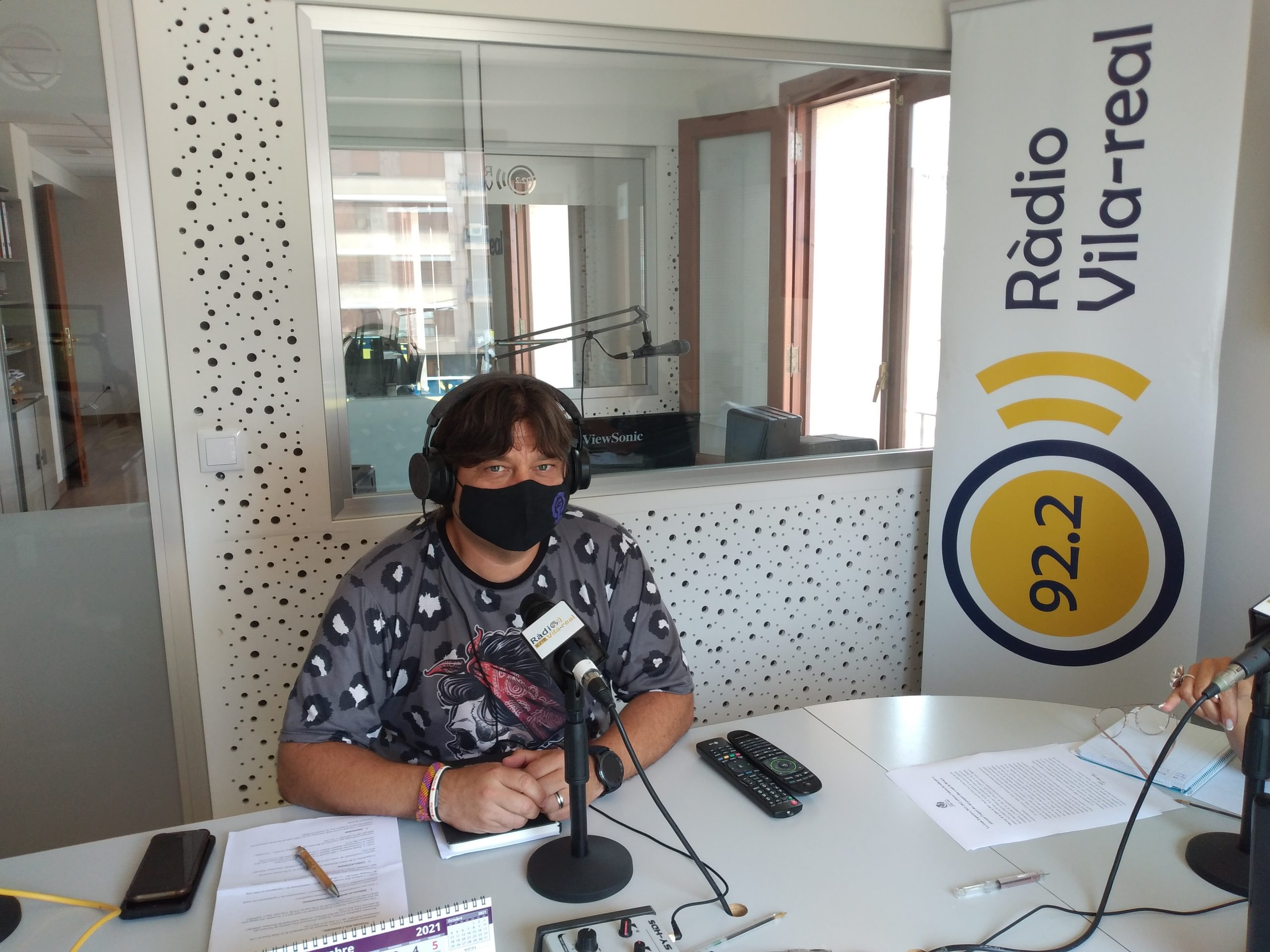 Entrevista al concejal de Sostenibilidad de Vila-real, José Ramón Ventura Chalmeta
