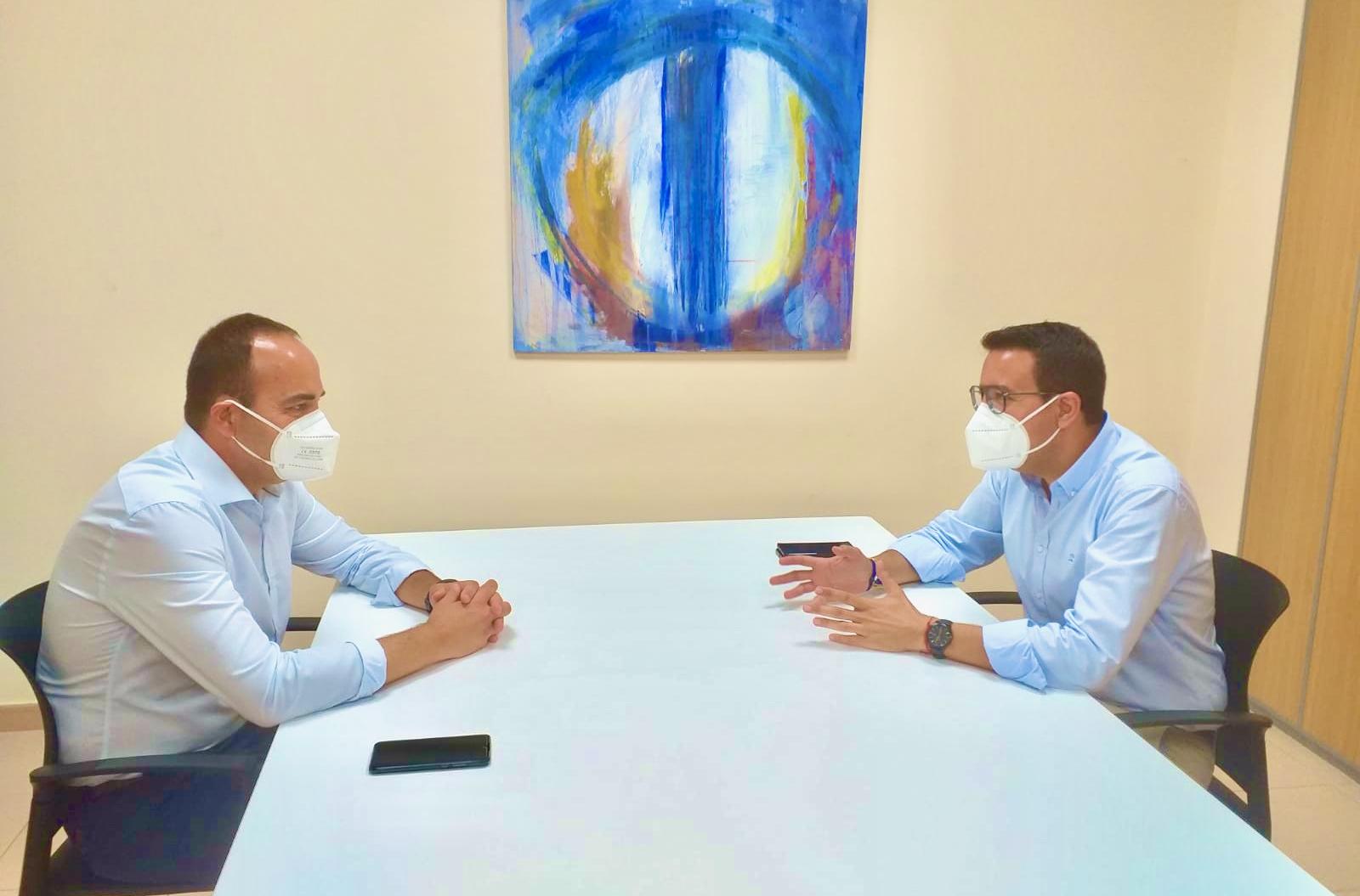 Casabó continúa sus reuniones con el resto de formaciones políticas de Vila-real