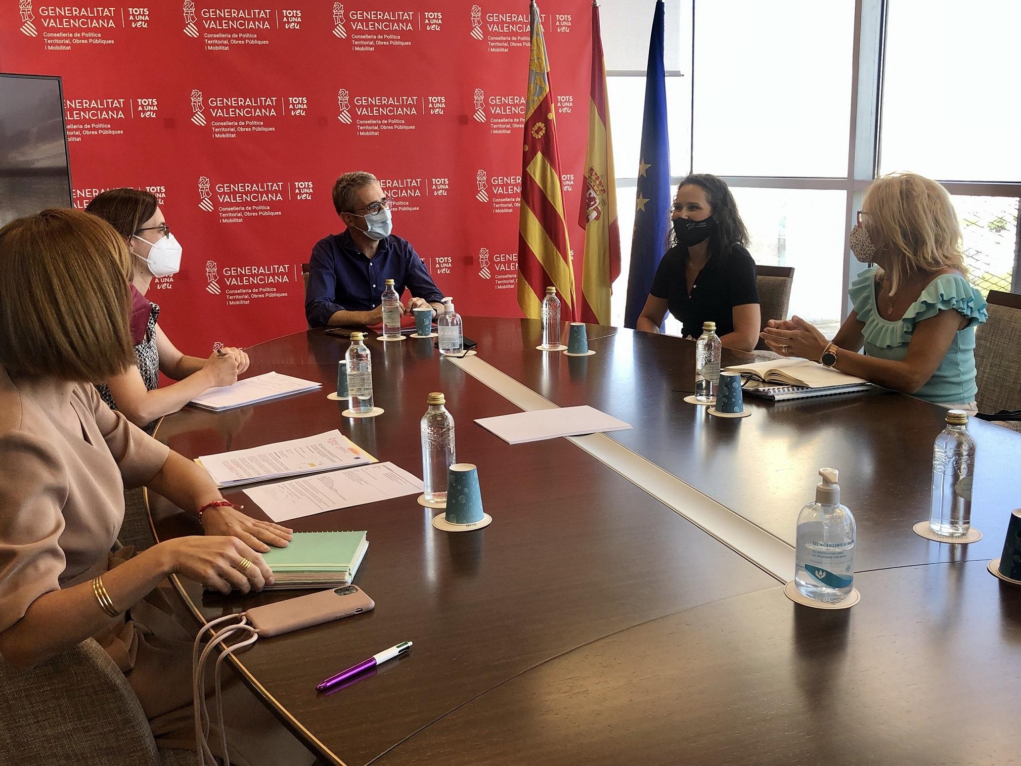 Arcadi España recibe a Galí para atender las alegaciones de Almassora al PAT
