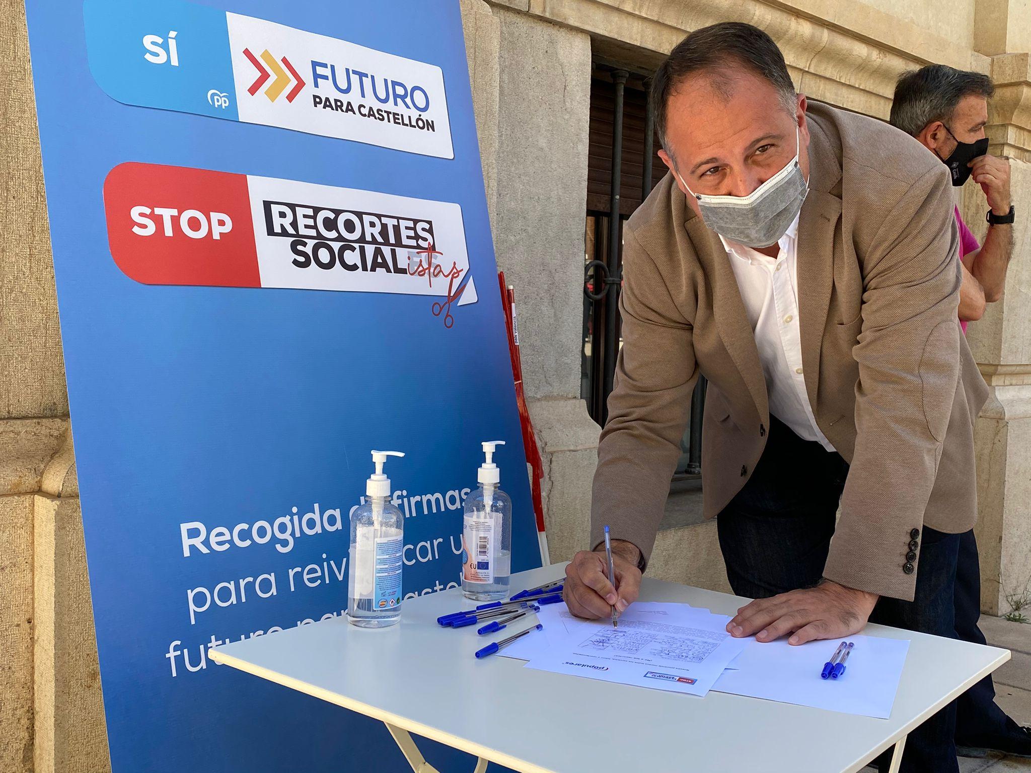 Aguilella (PP): «La mala gestión del PSOE retrasa las ayudas de Diputación a las empresas de Castellón»