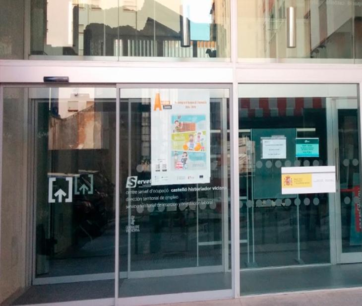 CSIF pide a Trabajo que refuerce las oficinas del SEPE y avisa que, hasta diciembre, perderán a una quinta parte de su plantilla en Castellón