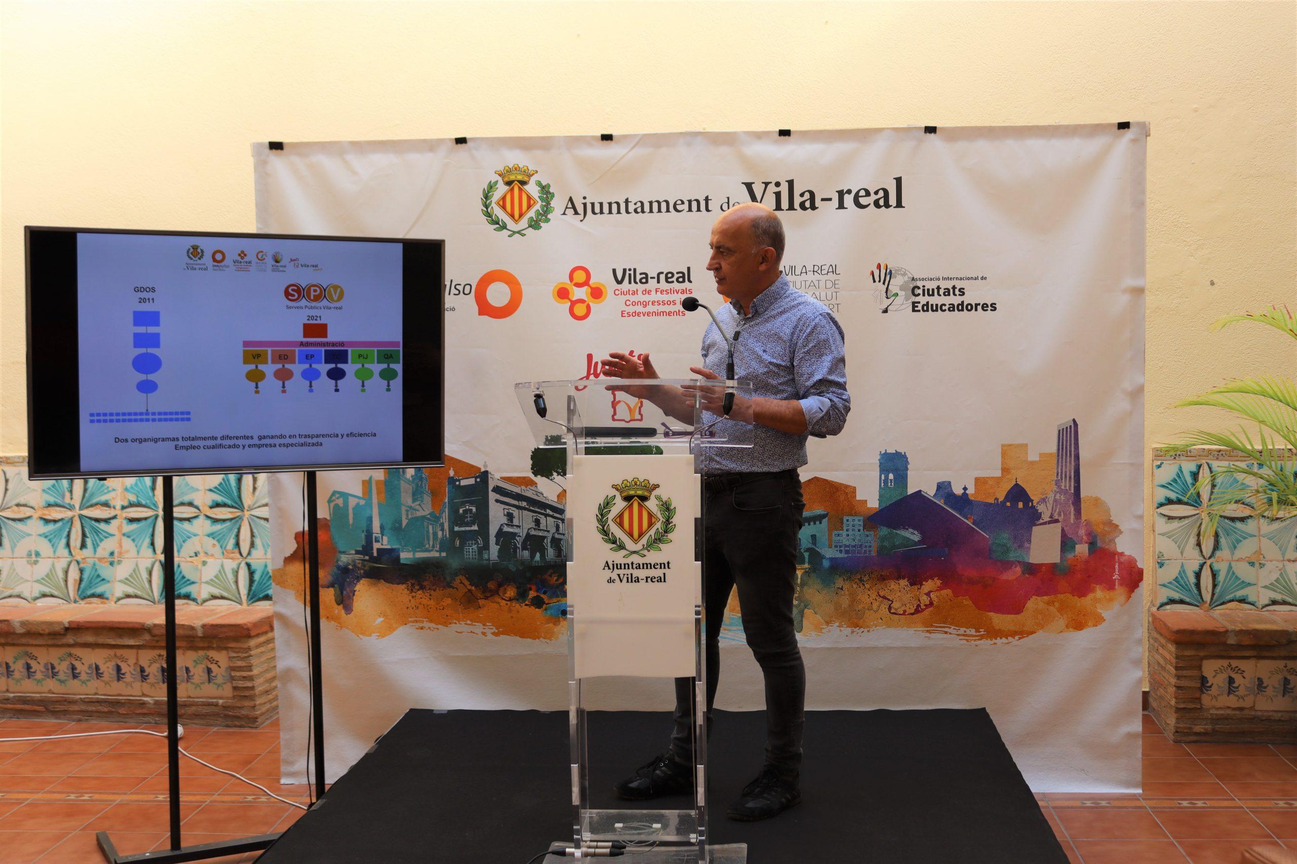 Valverde destaca los avances en el modelo de ciudad inteligente, la mejora de la accesibilidad y la creación de un entorno más amable con el peatón tras 10 años de gestión en Servicios Públicos