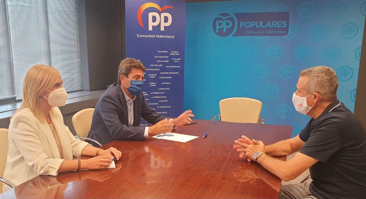 El PPCV apoya el pasaporte Covid para interiores y pide acelerar la vacunación a los jóvenes