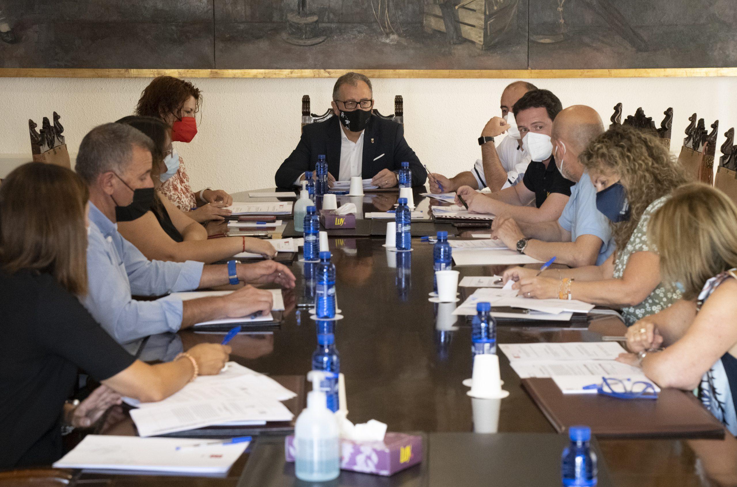 El equipo de gobierno de José Martí propone una declaración institucional sobre el Hospital Provincial en la que se apuesta por el diálogo