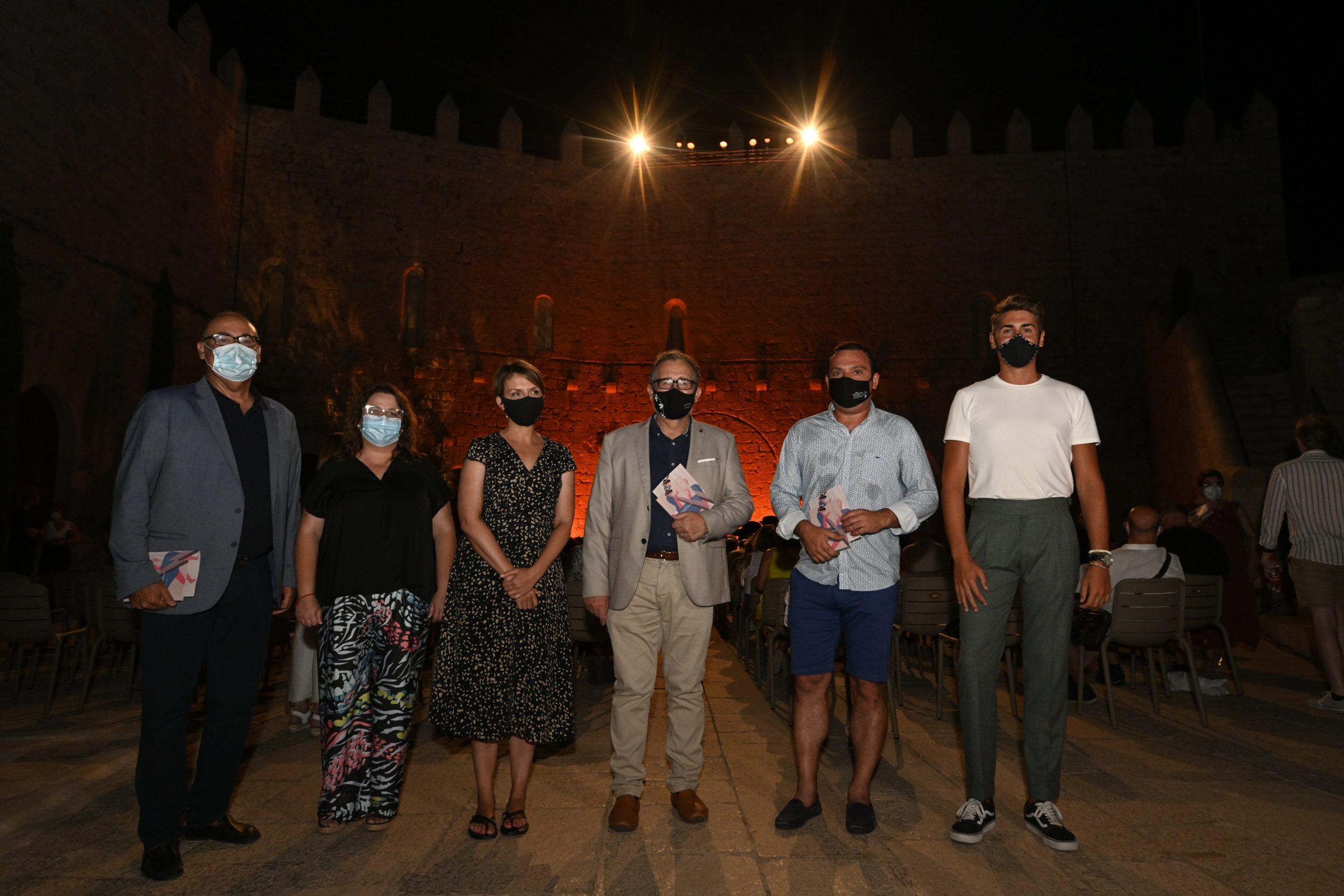 José Martí y Ruth Sanz asisten a la inauguración del Festival de Música Antiga i Barroca de Peñíscola