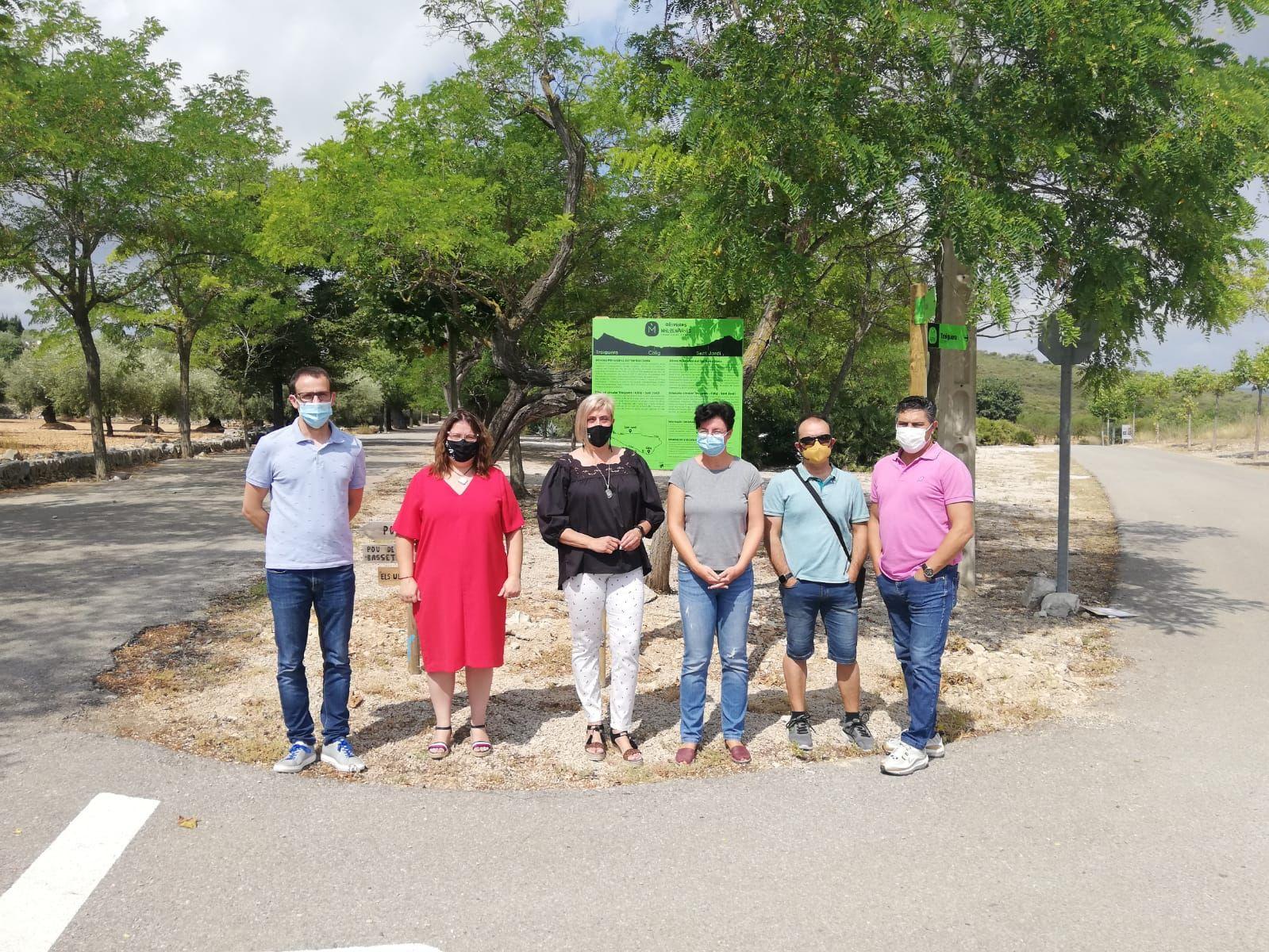La Diputación de Castellón impulsa rutas cicloturísticas entre olivos milenarios de Càlig, Sant Jordi y Traiguera con su apoyo económico a la Mancomunitat Taula del Sénia