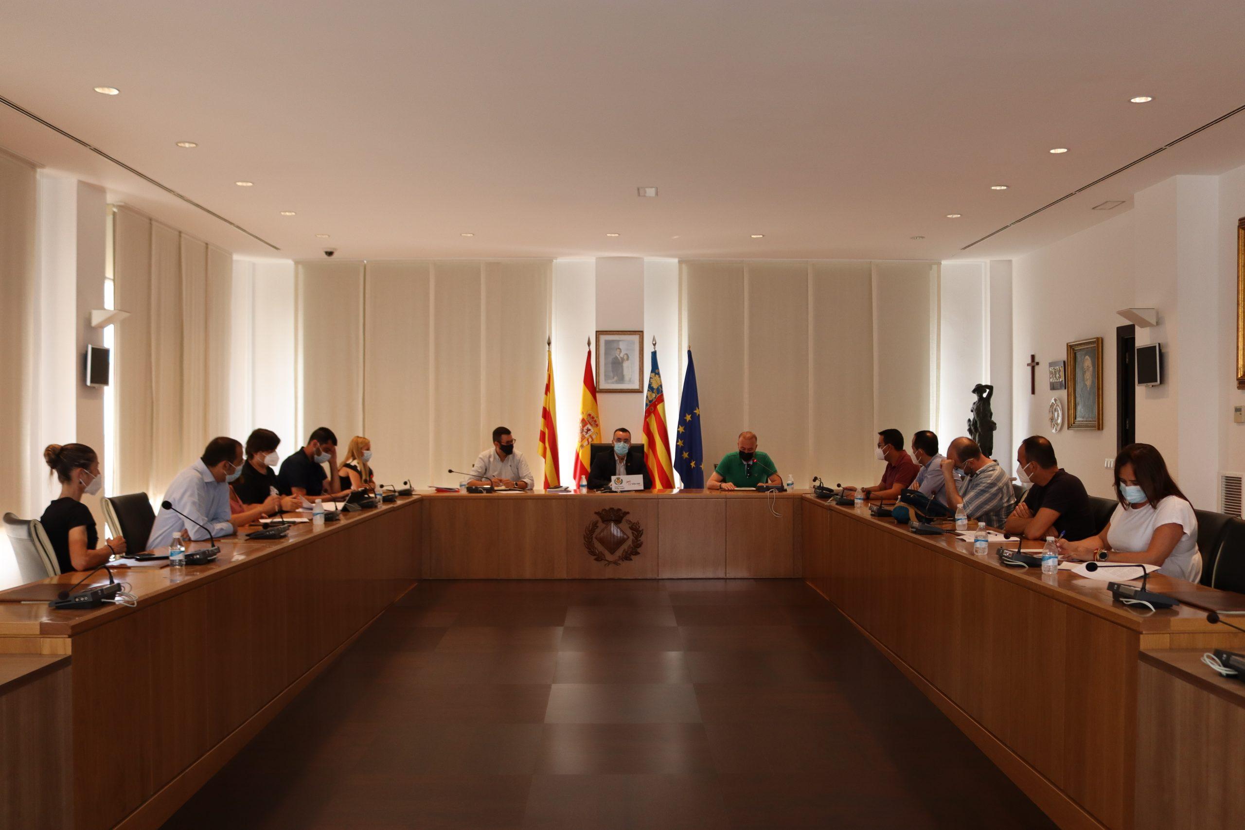 El Consejo Rector de Fiestas aprueba el programa de actos de la Virgen de Gracia con la unanimidad de todos los partidos