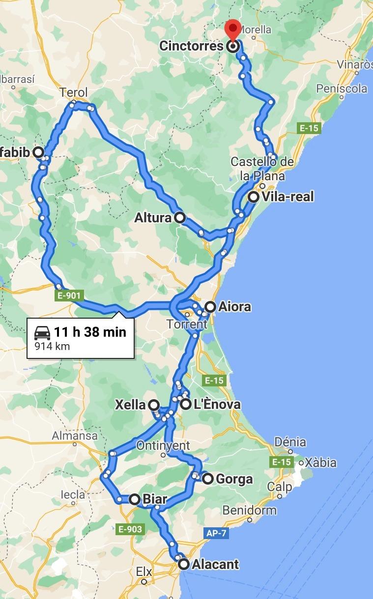 Haz turismo por el territorio valenciano junto a la Virgen de Gracia con Santi Cortells