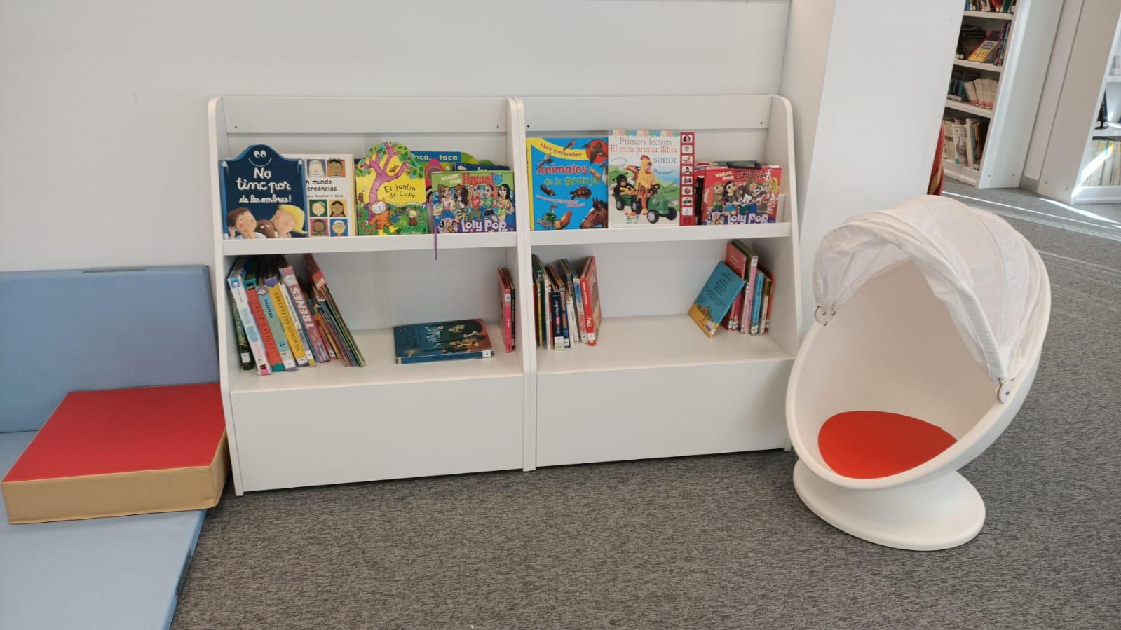 El Ayuntamiento de Moncofa adquiere material específico para la zona infantil de la Biblioteca