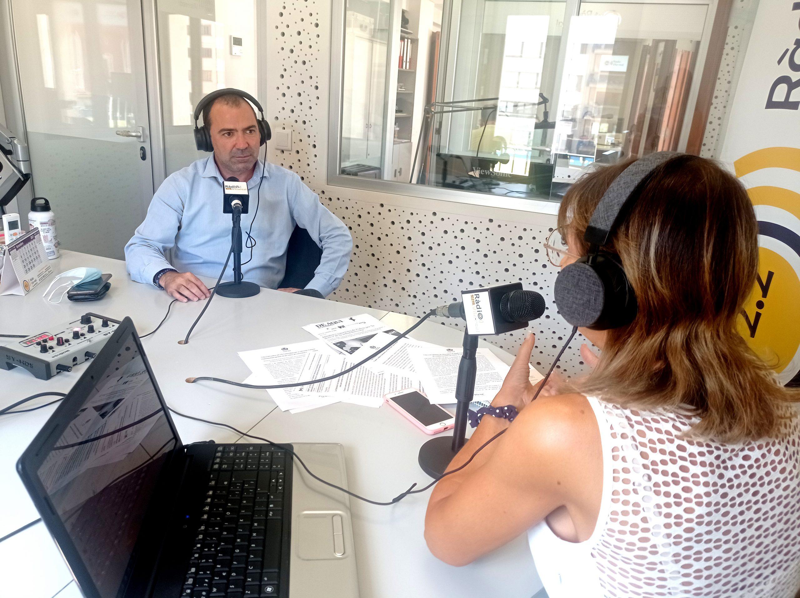 Entrevista al concejal de Promoción Económica y Servicios Públicos de Vila-real, Xus Madrigal