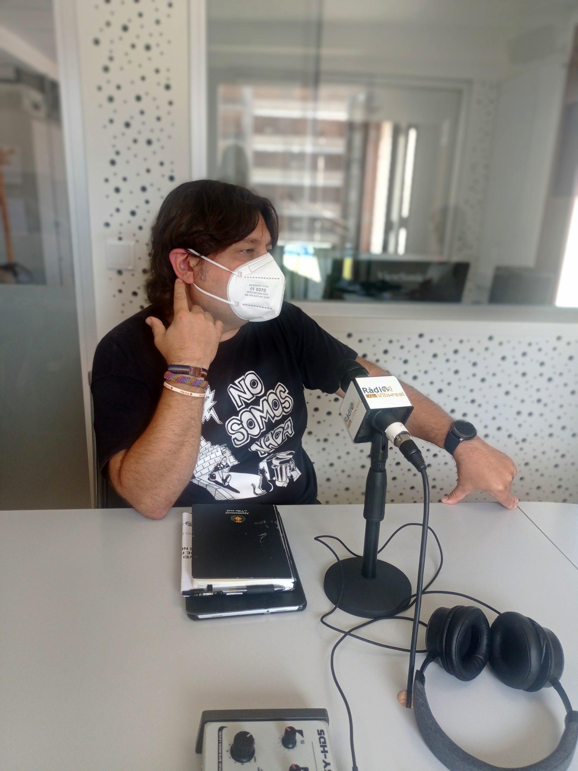 Entrevista al concejal de Agricultura de Vila-real, José Ramón Ventura Chalmeta