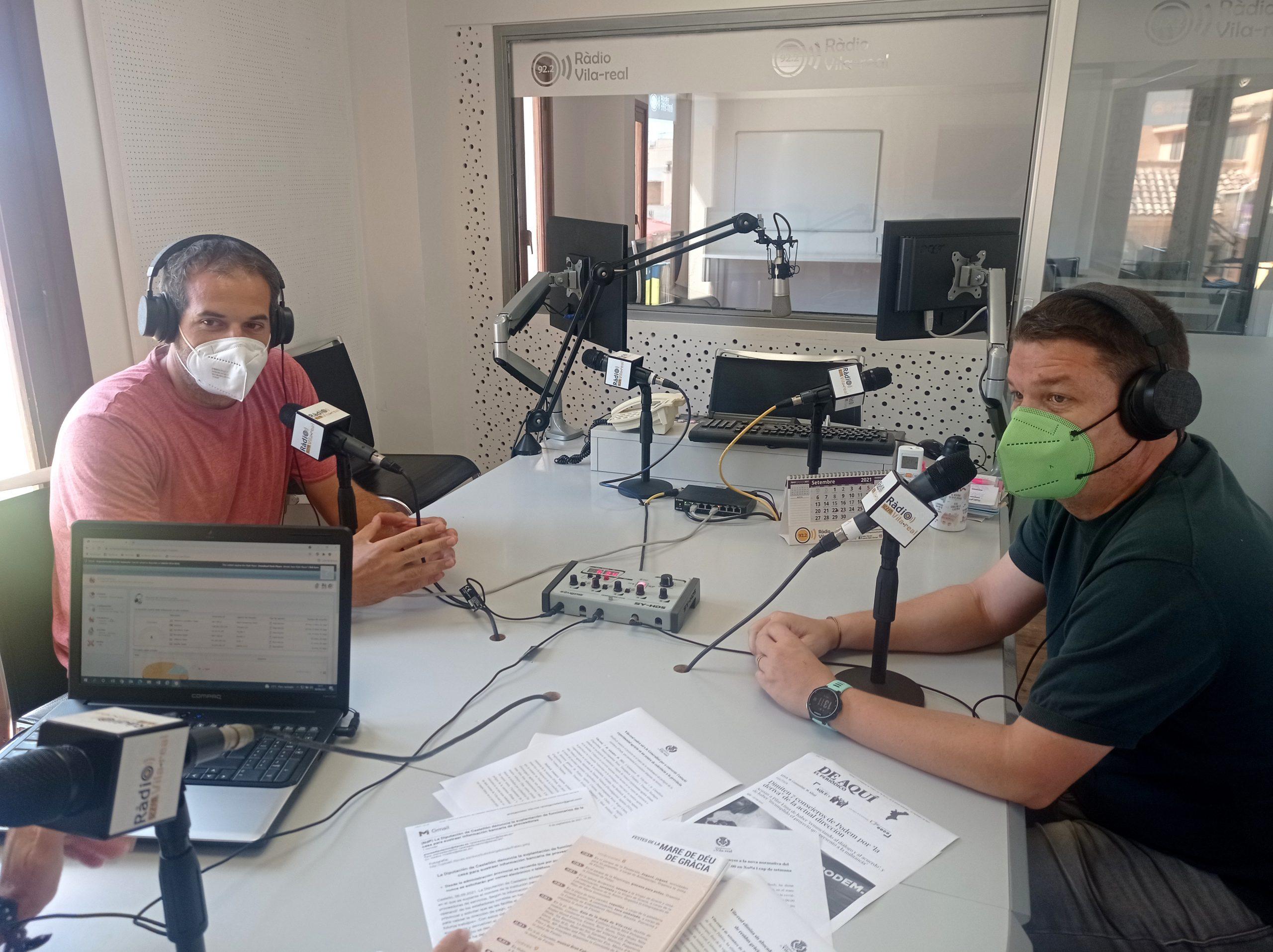 Entrevista a los miembros de la Peña El Sifó, Richard Fuster y Xus Sempere