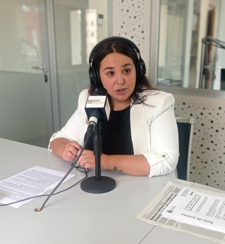 Entrevista a la concejala de Juventud de Vila-real, Anna Vicens