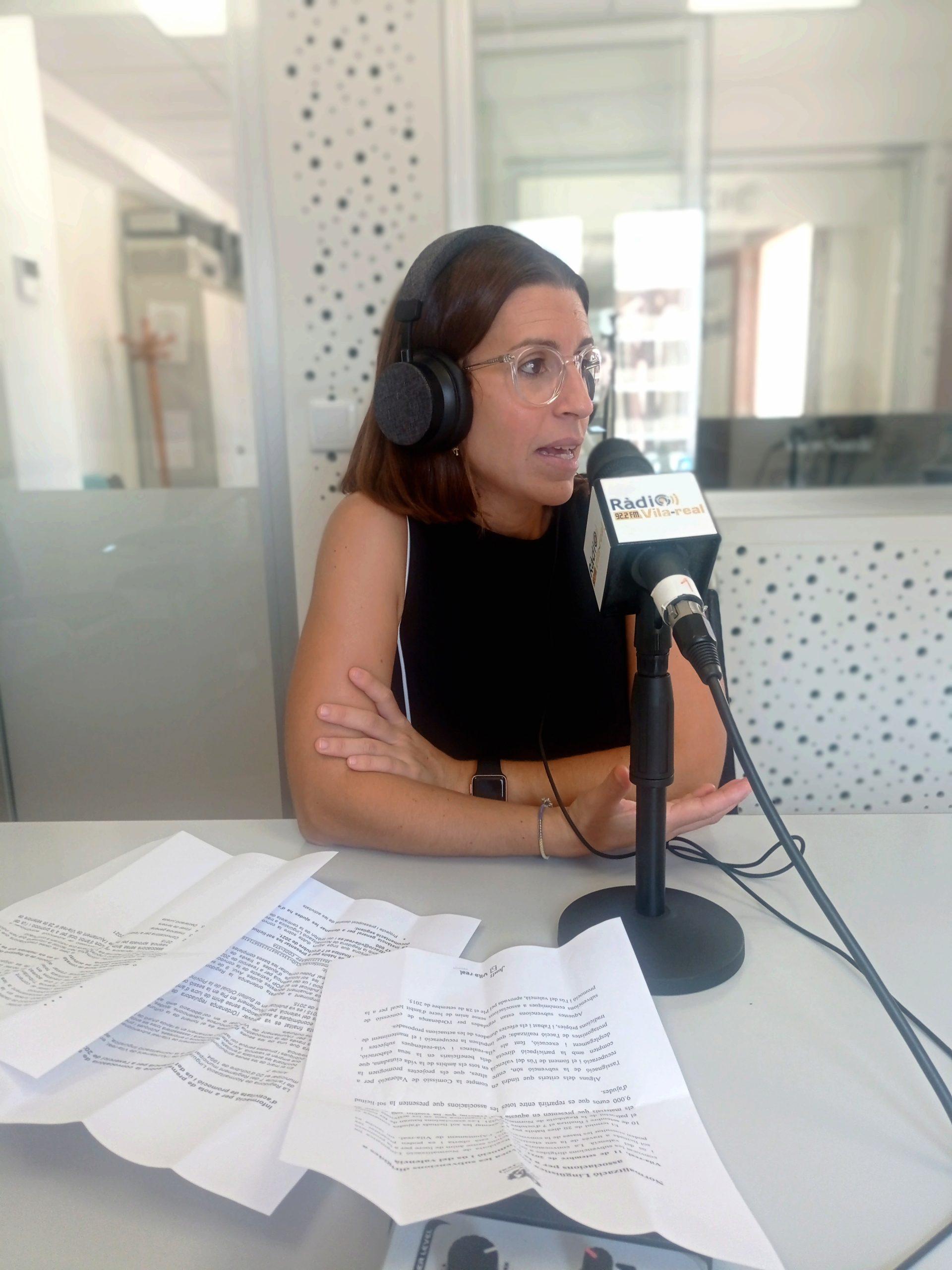 Entrevista a la concejala de Normalización Lingüística de Vila-real, Noelia Samblás