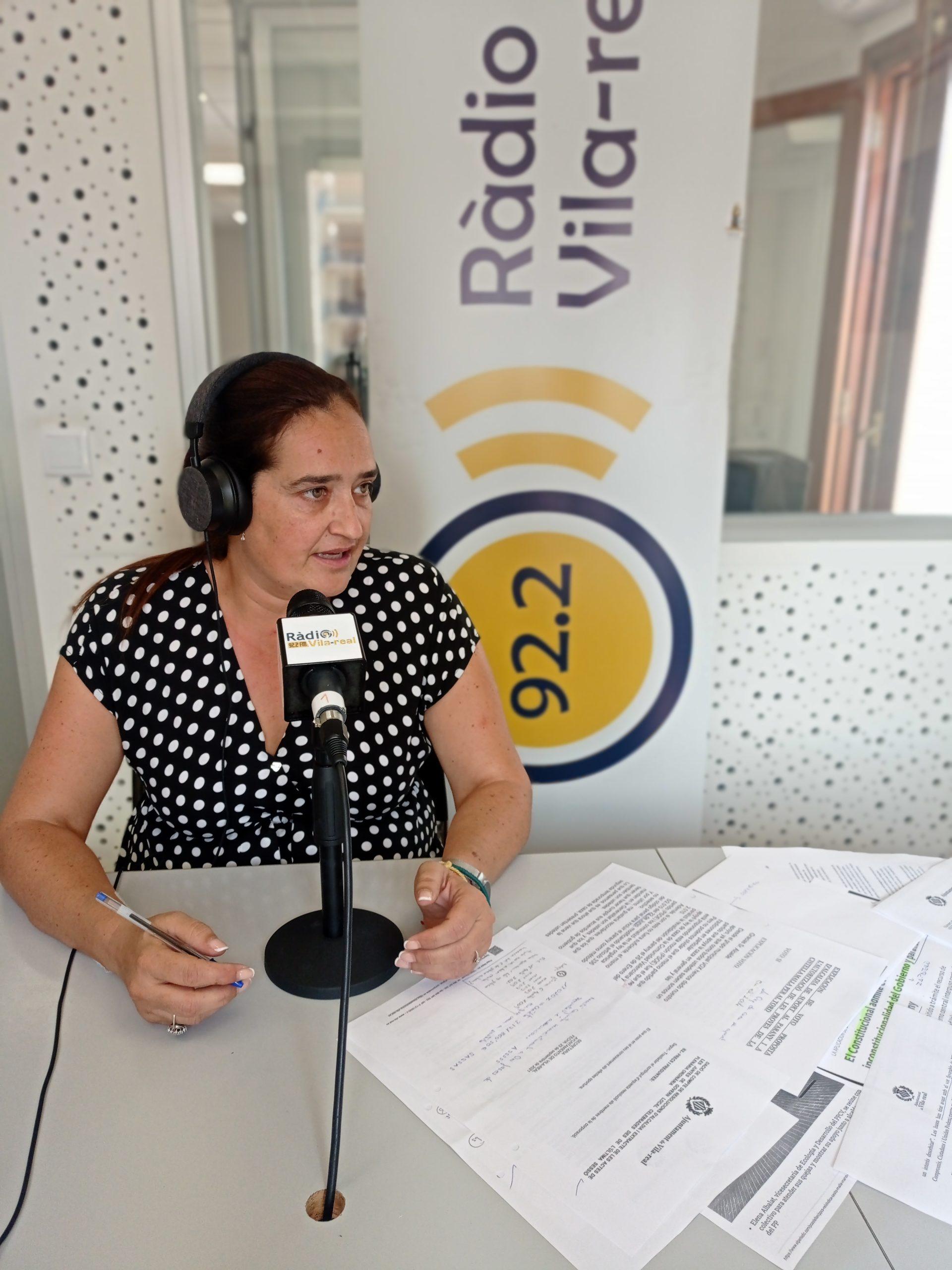 Entrevista a la portavoz de VOX de Vila-real, Irene Herrero