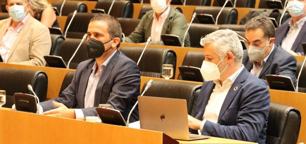 Renau (PSPV-PSOE) defiende que el partido socialista sigue trabajando para bajar el precio de la luz mientras el PP «vota en contra de las medidas «