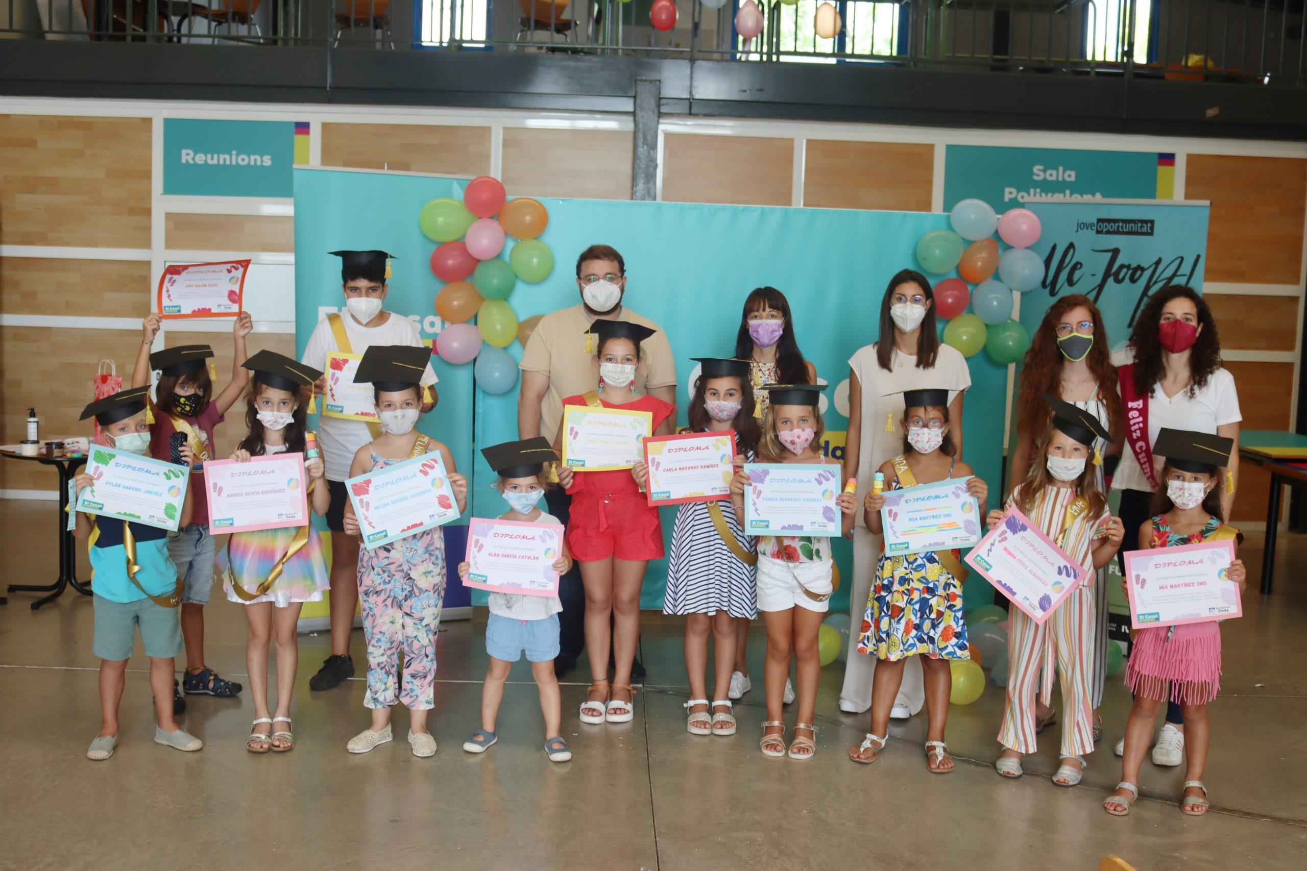 El Casal Jove de Onda despide el verano con una fiesta de graduación