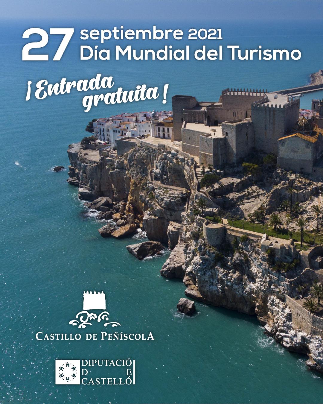 La Diputación abre el lunes las puertas del Castillo de Peñíscola de forma gratuita con motivo del Día del Turismo