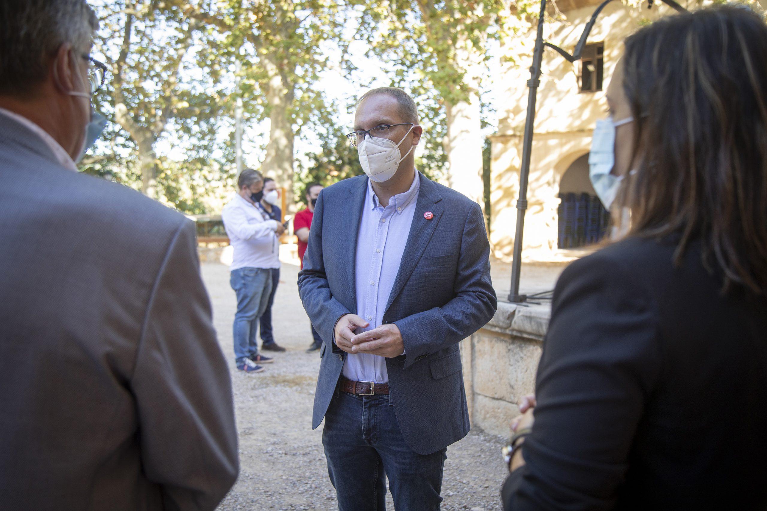 Blanch (PSPV-PSOE) celebra el éxito del proceso de vacunación con el 74,6% de la población de la provincia de Castelló vacunada