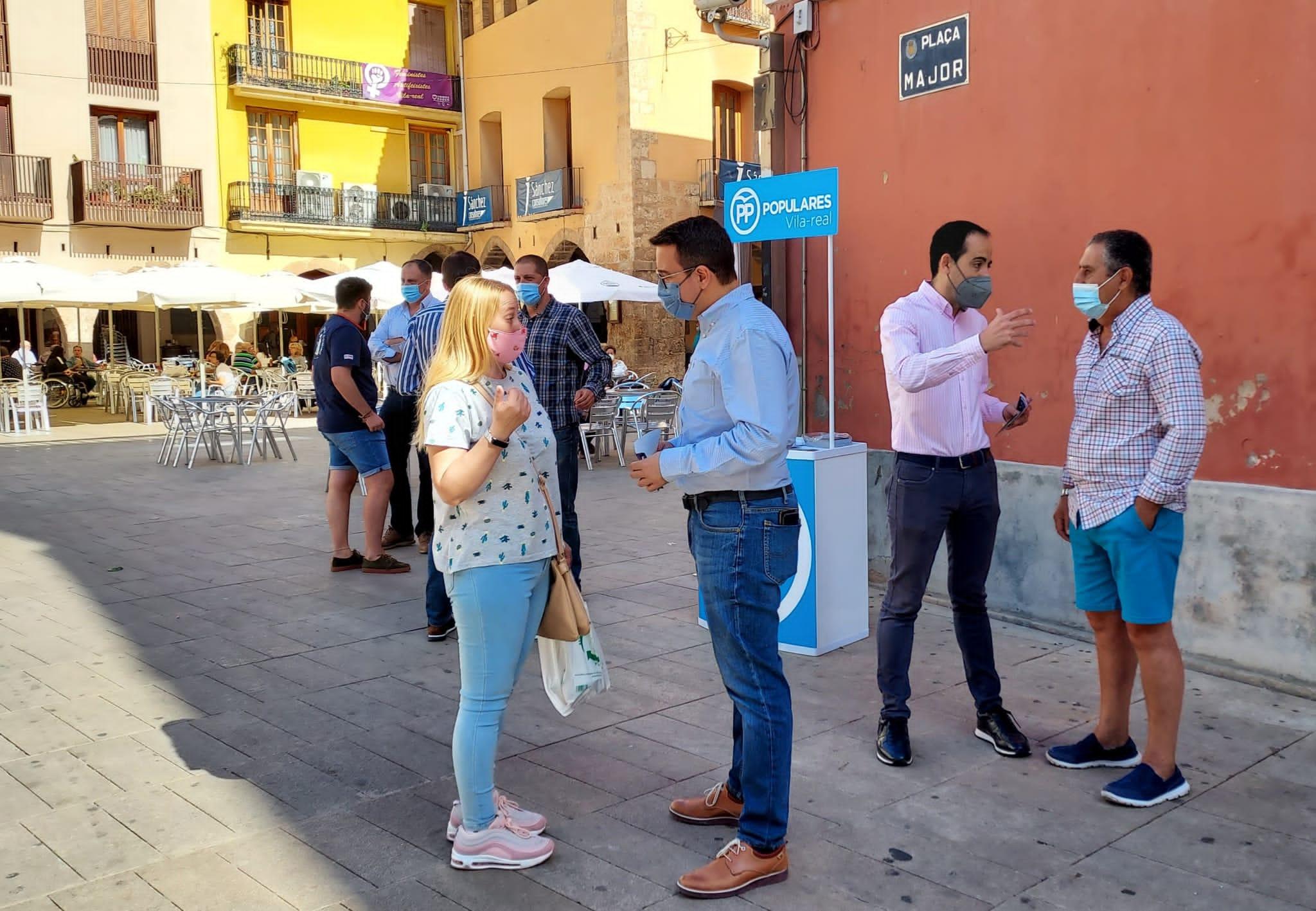 Entrevista al Presidente del PP de Vila-real, Adrián Casabó