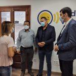 Entrevista al alcalde de Tepetitán (El Salvador), William Portillo; al Presidente del Fondo Valenciano de Solidaridad, Álvaro Escorihuela y al coordinador del proyecto, Guillermo Amaya