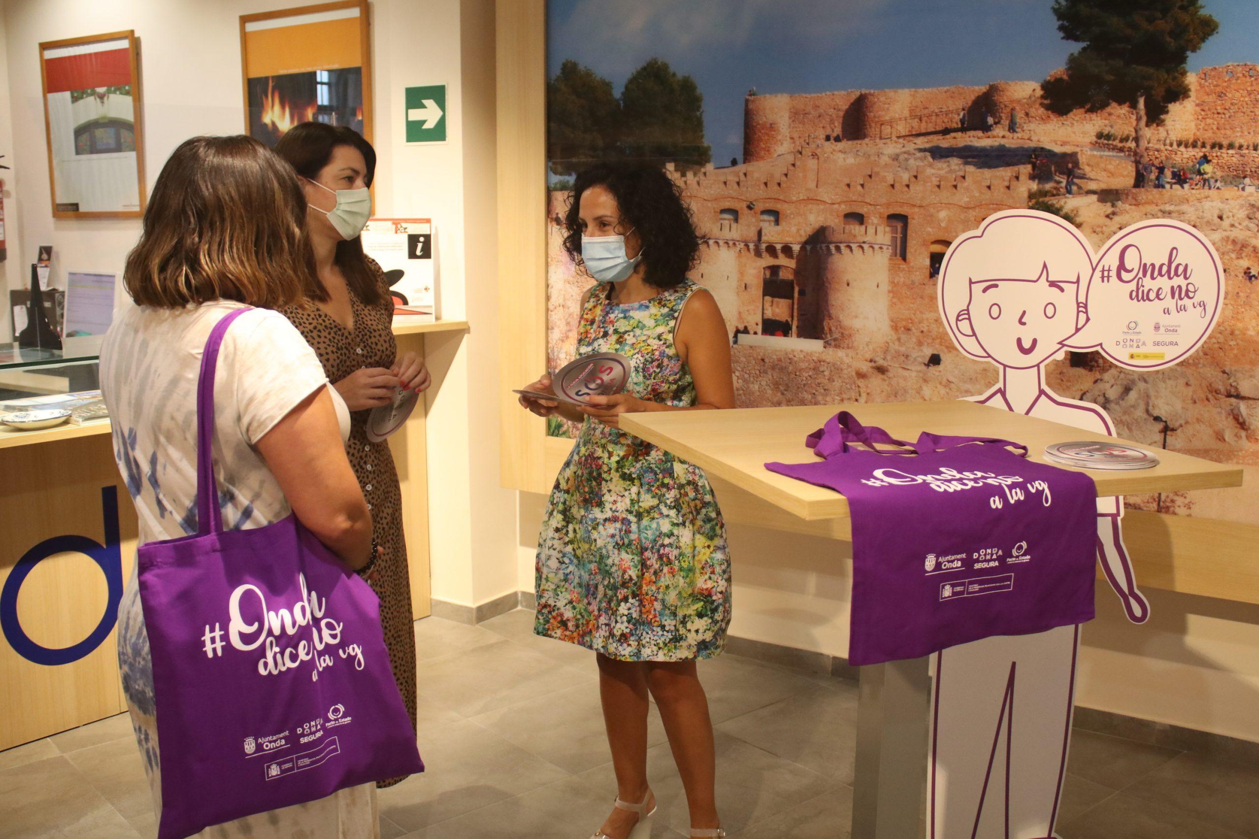 Onda tramita la adhesión de sus Tourist Info a los Puntos Violeta Turísticos de la Comunitat Valenciana