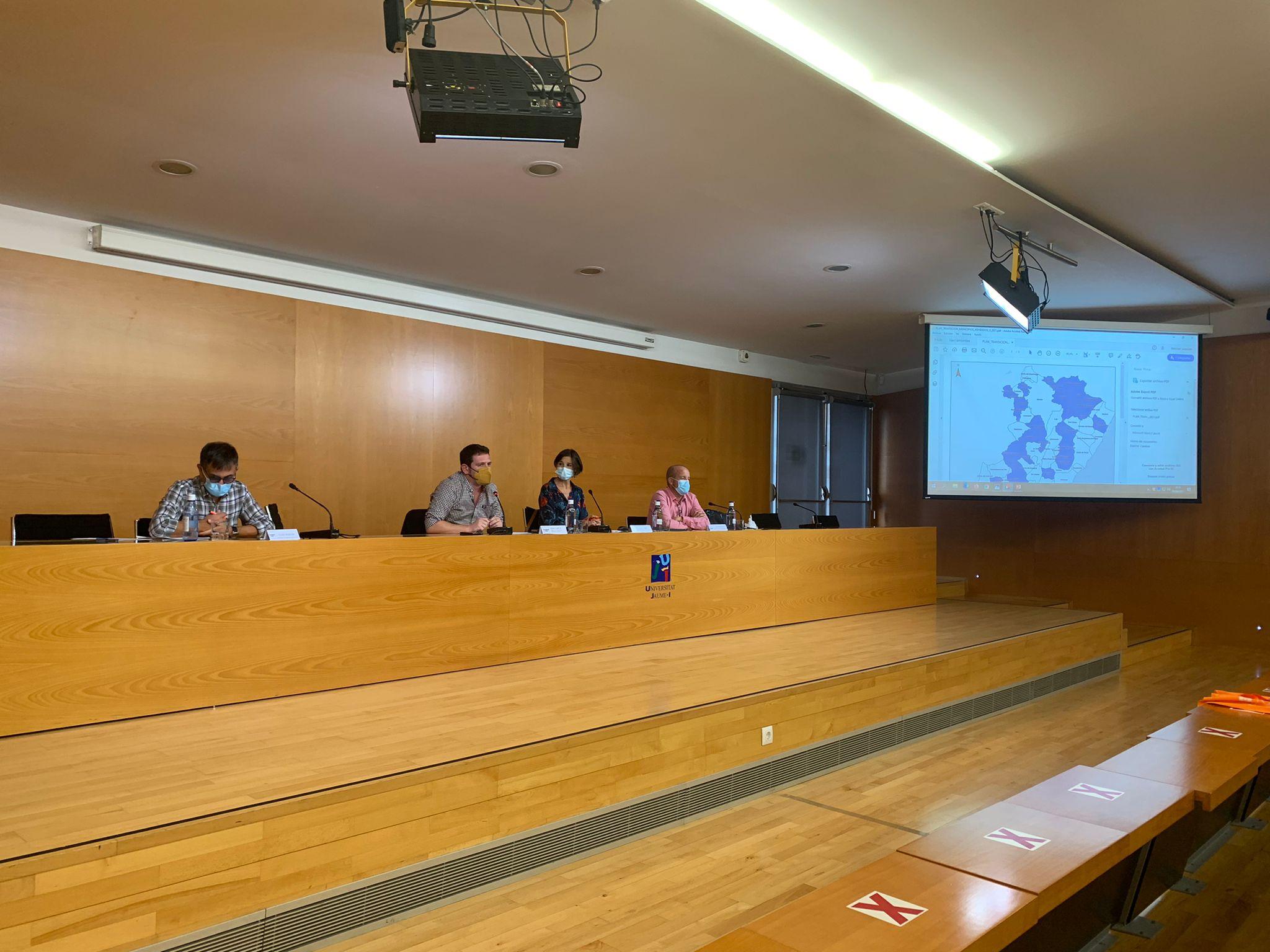 El diputado de Sostenibilidad presenta el Plan de Transición Energética de la Diputación en el Workshop de la Economia Valenciana
