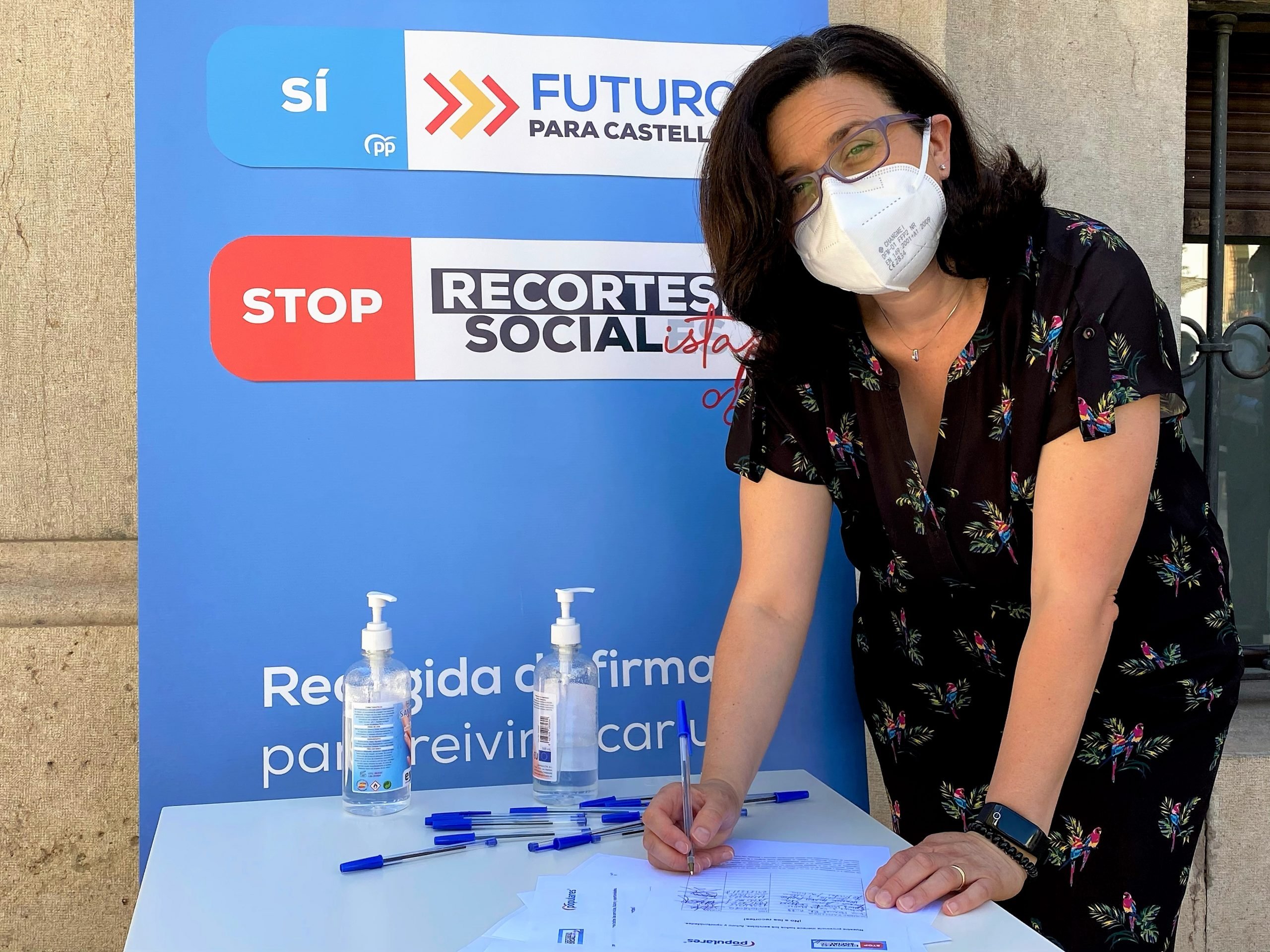 """El PPCS afirma que """"el tiempo nos ha dado la razón, el hospital de campaña de Ximo Puig no ha salvado ninguna vida pero sí ha costado millones de euros"""""""