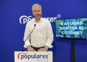 «El PSOE tumba» la propuesta del PP para crear una línea de ayudas para el agricultor