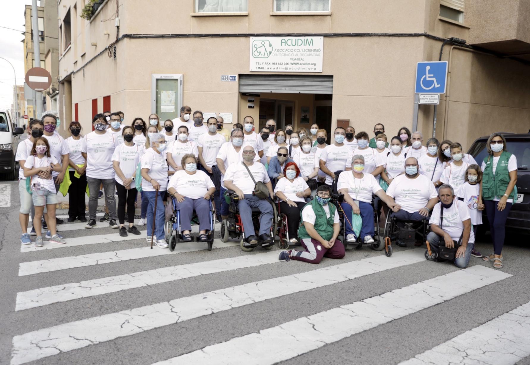 I Marxa solidària d'Acudim a Vila-real