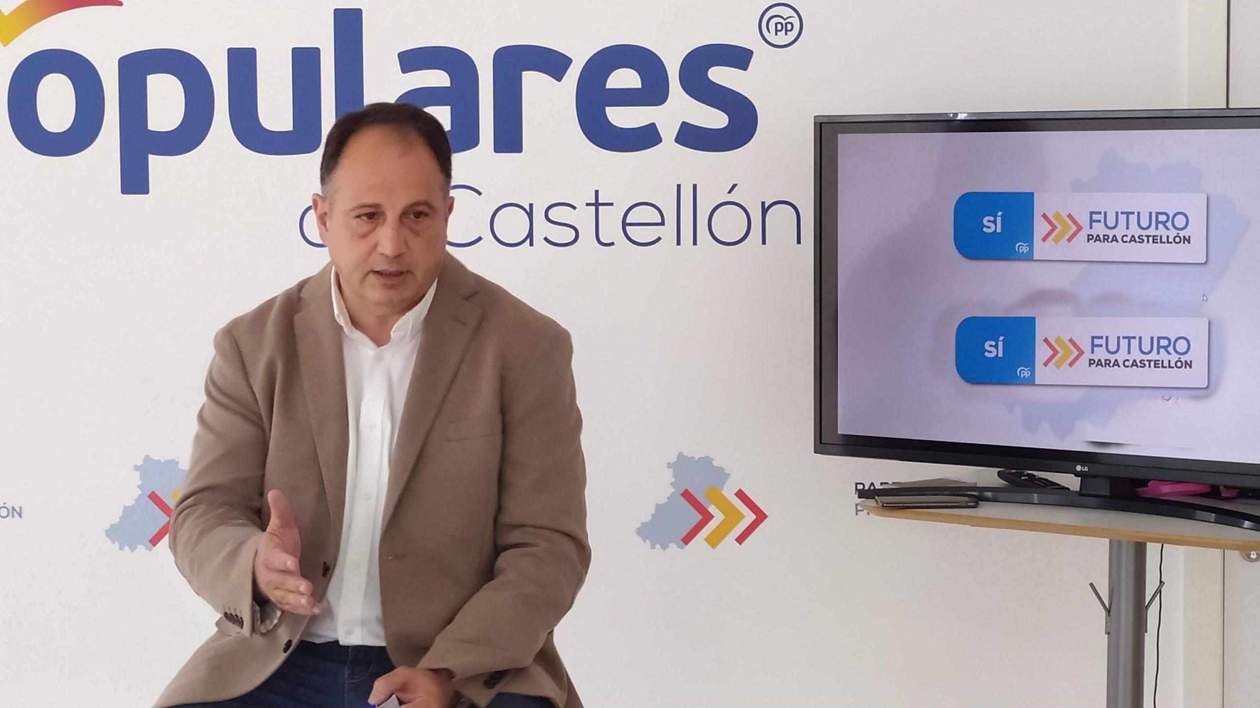 El PPCS llevará la campaña #SánchezApagaYVete a las calles de la provincia de Castellón