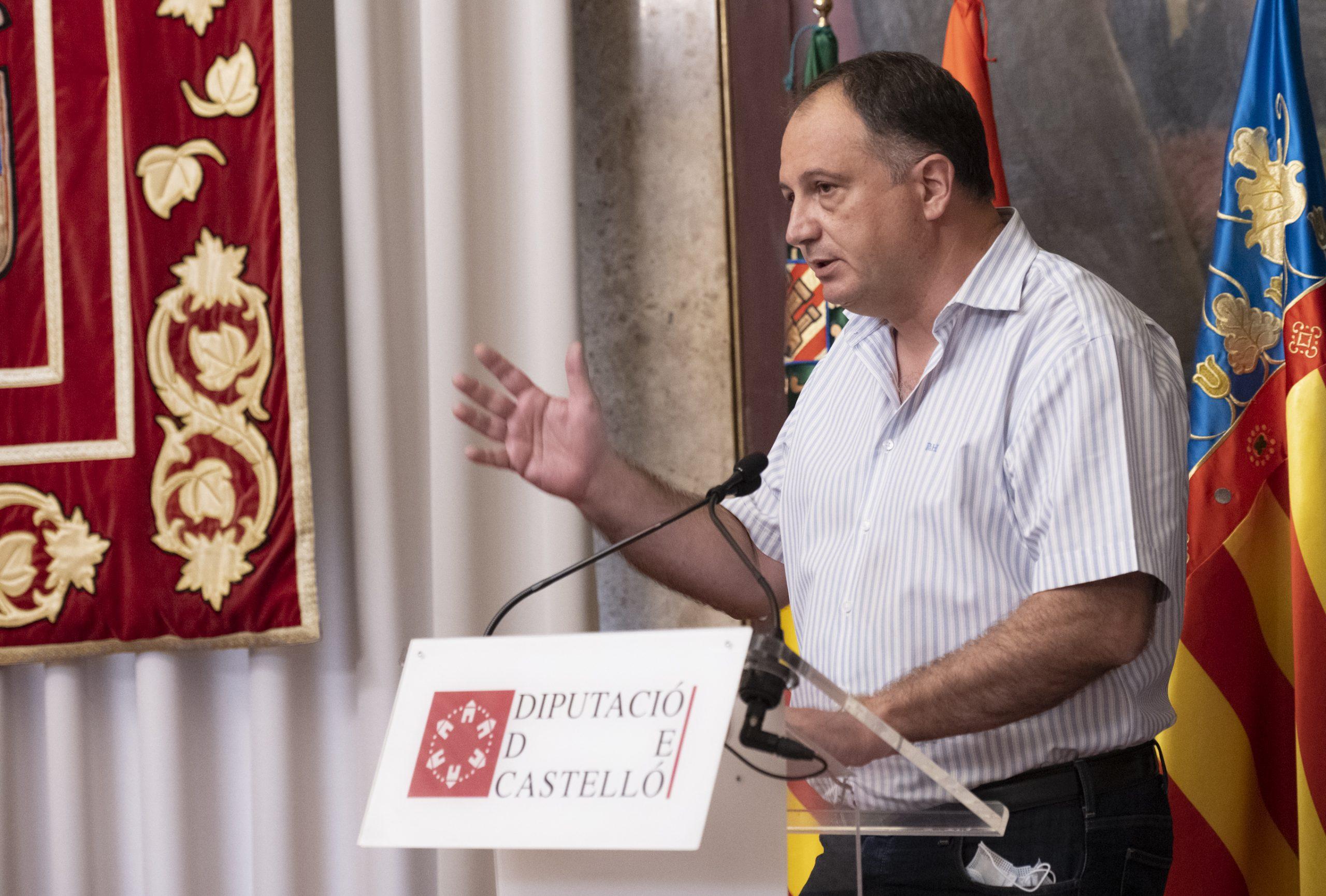 """Aguilella pide a la Diputación """"eficiencia y celeridad"""" para conceder ayudas a las pymes y autónomos afectados por la Covid"""
