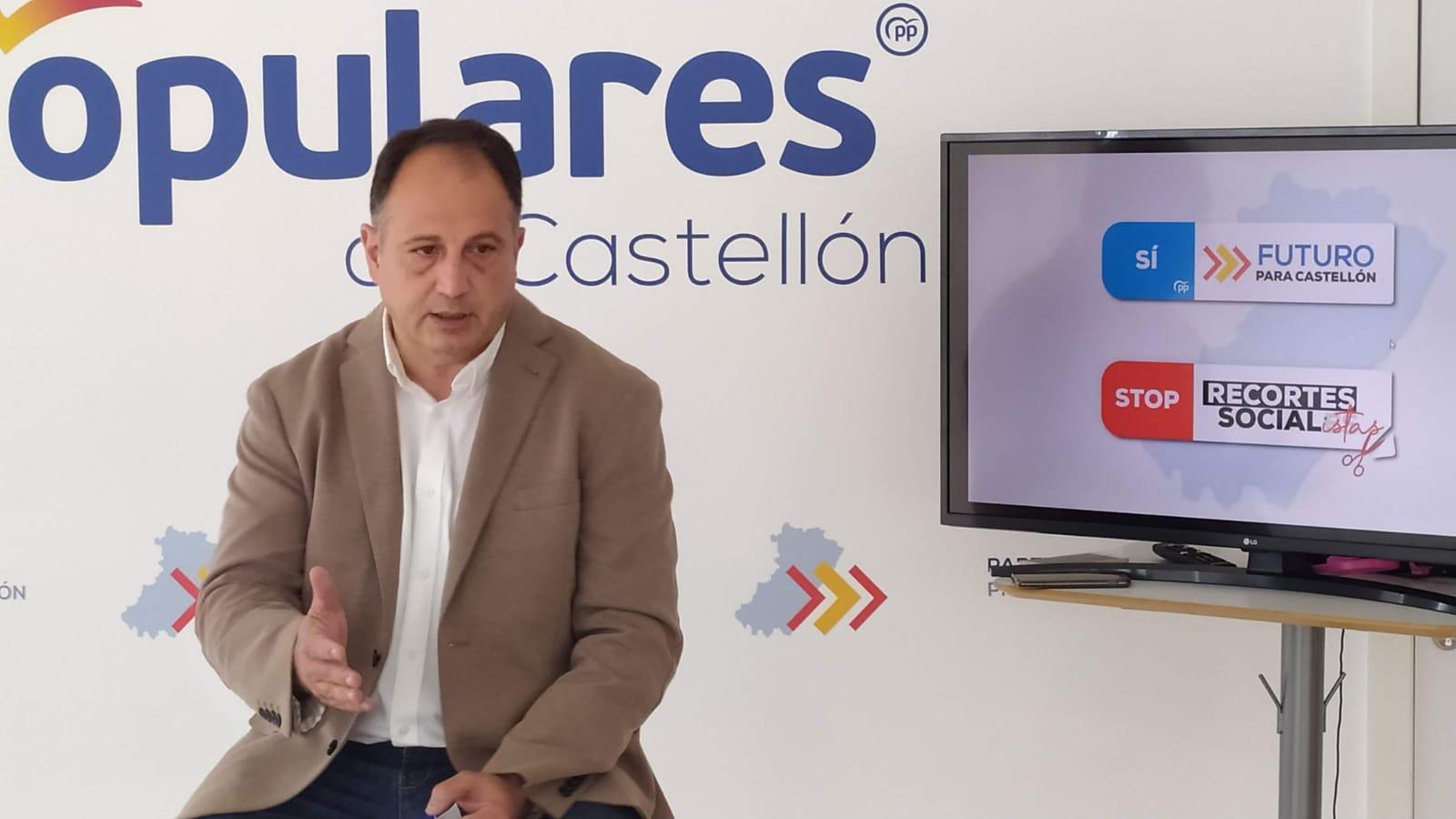 Aguilella pide a Ximo Puig que deje de ahuyentar la llegada de inversiones y empleo