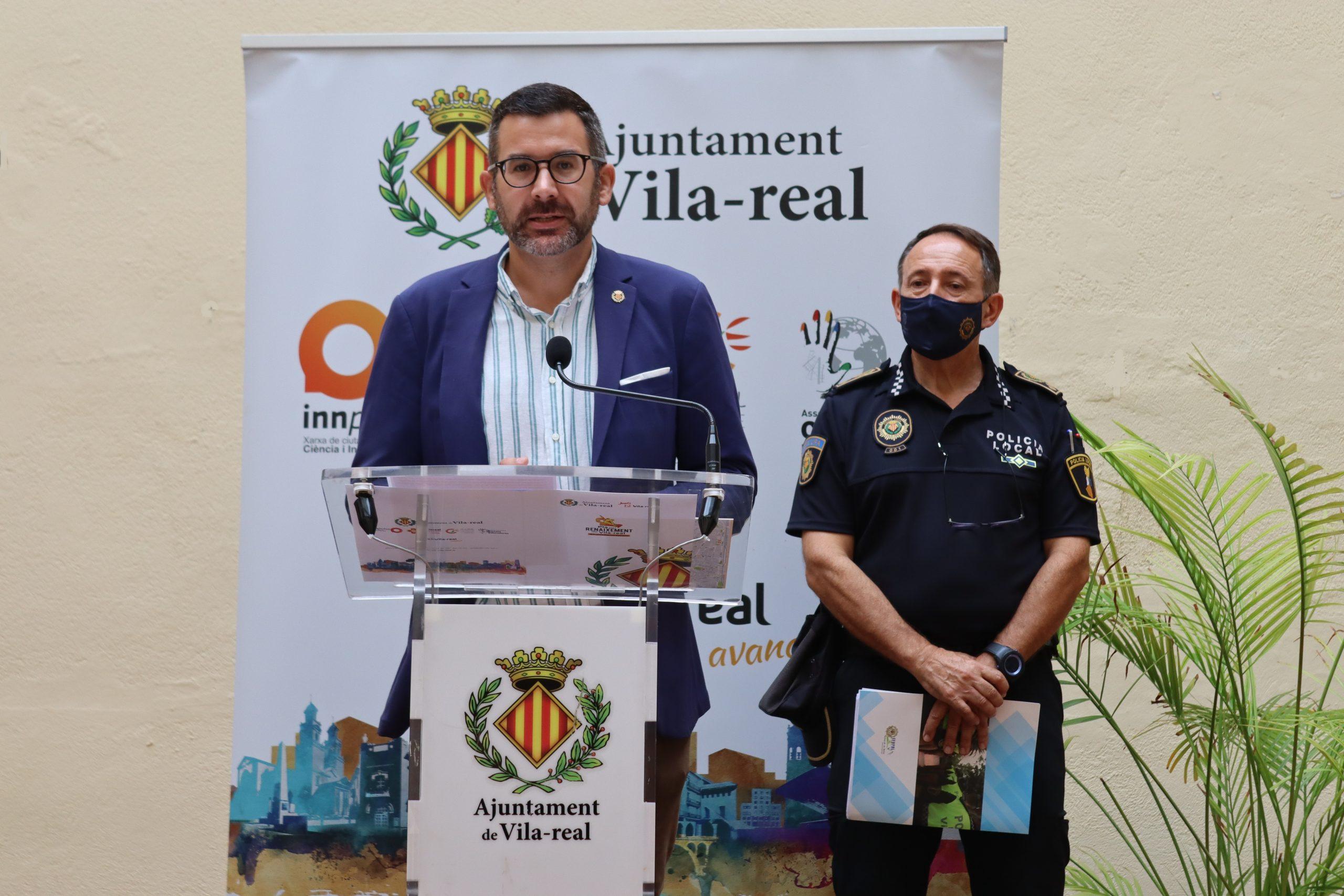 Entrevista al concejal de Comercio de Vila-real, Diego Vila