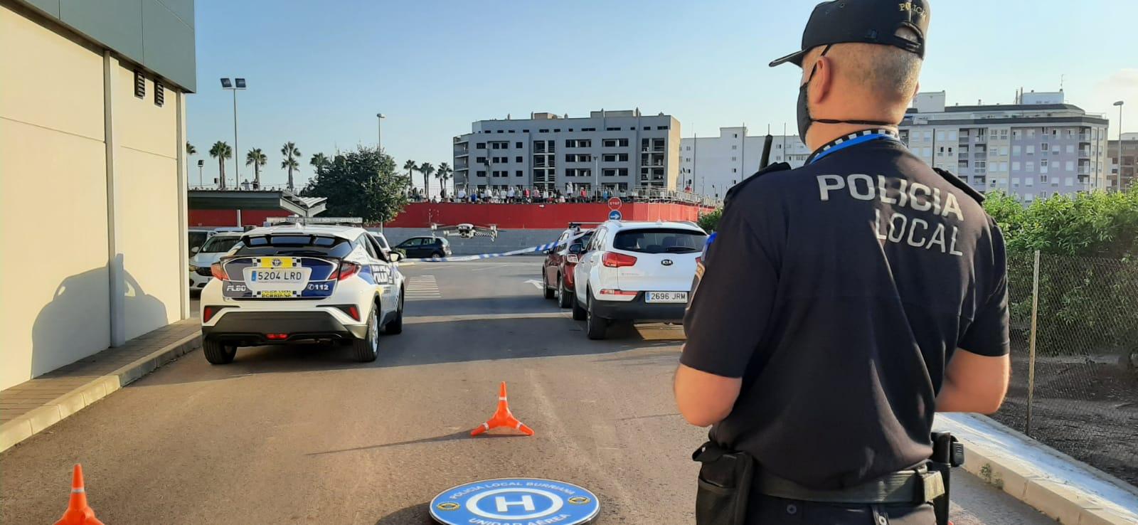 La Policía Local de Burriana realiza 308 intervenciones durante la Misericòrdia