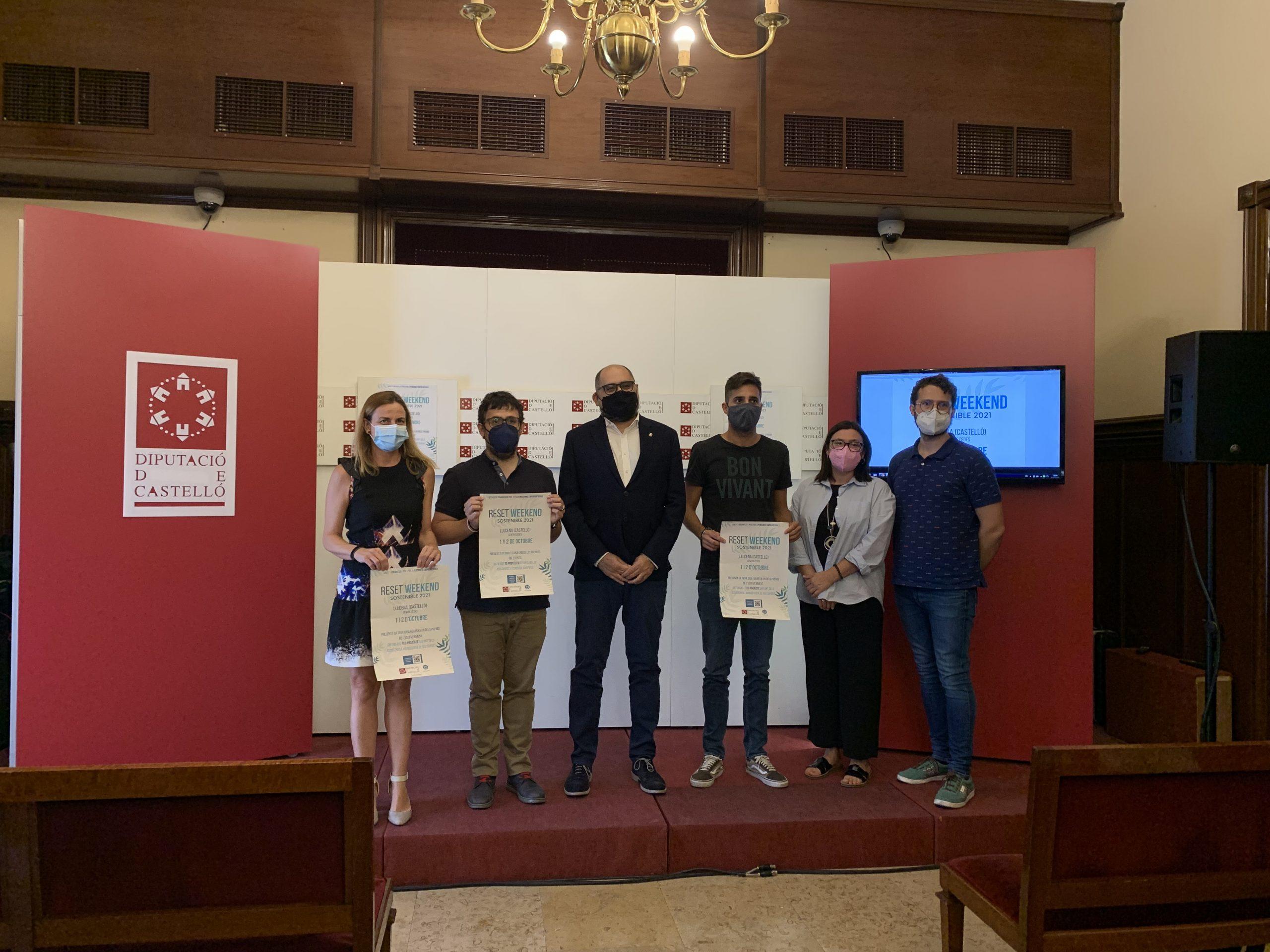La Diputación de Castellón anima al emprendimiento a perfeccionar su idea de negocio ambientado en la sostenibilidad en el Reset Weekend