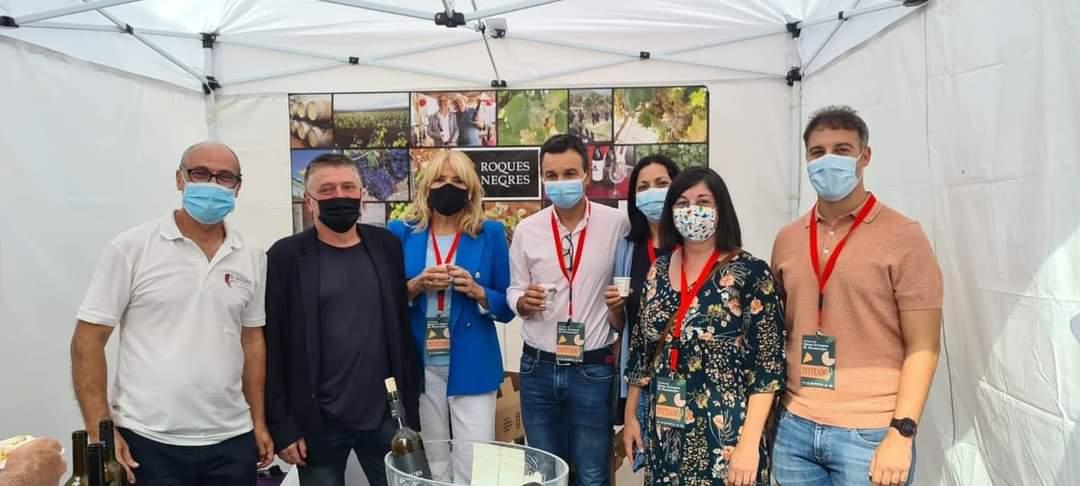 Edo (PSPV-PSOE) destaca en la Feria del Queso Artesanal de Montanejos las oportunidades del mundo rural
