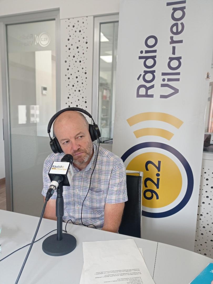 Entrevista al secretario de la Fundació Caixa Rural de Vila-real, Josep Ramos