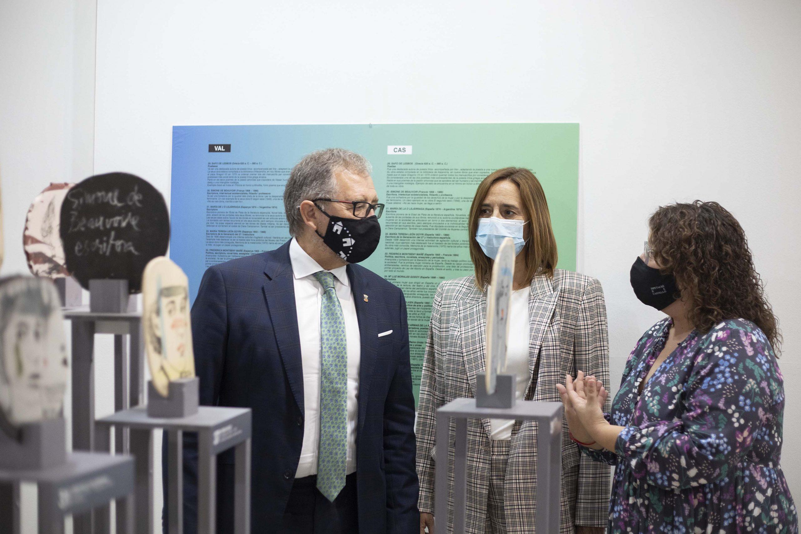 La Diputación de Castellón homenajea con la exposición 'Memòria de l'Enginy Femení' a las artistas invisibles de la historia