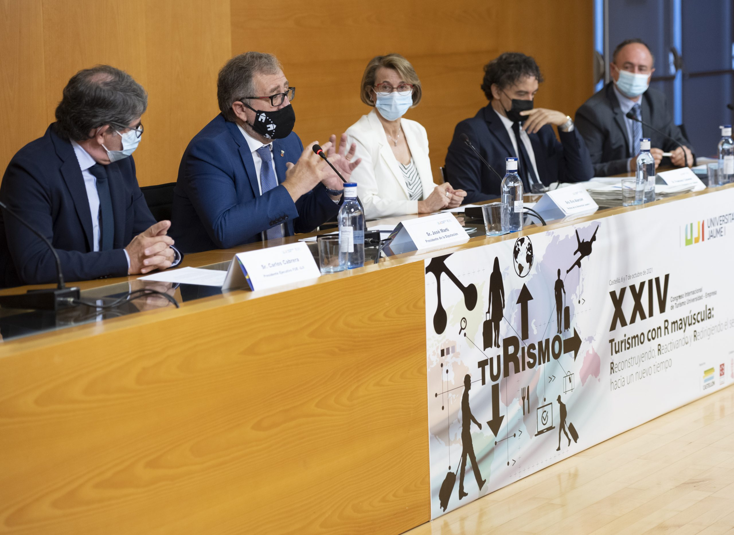 José Martí anima a los castellonenses a recorrer la provincia para descubrir sus joyas naturales y culturales y reactivar el sector turístico