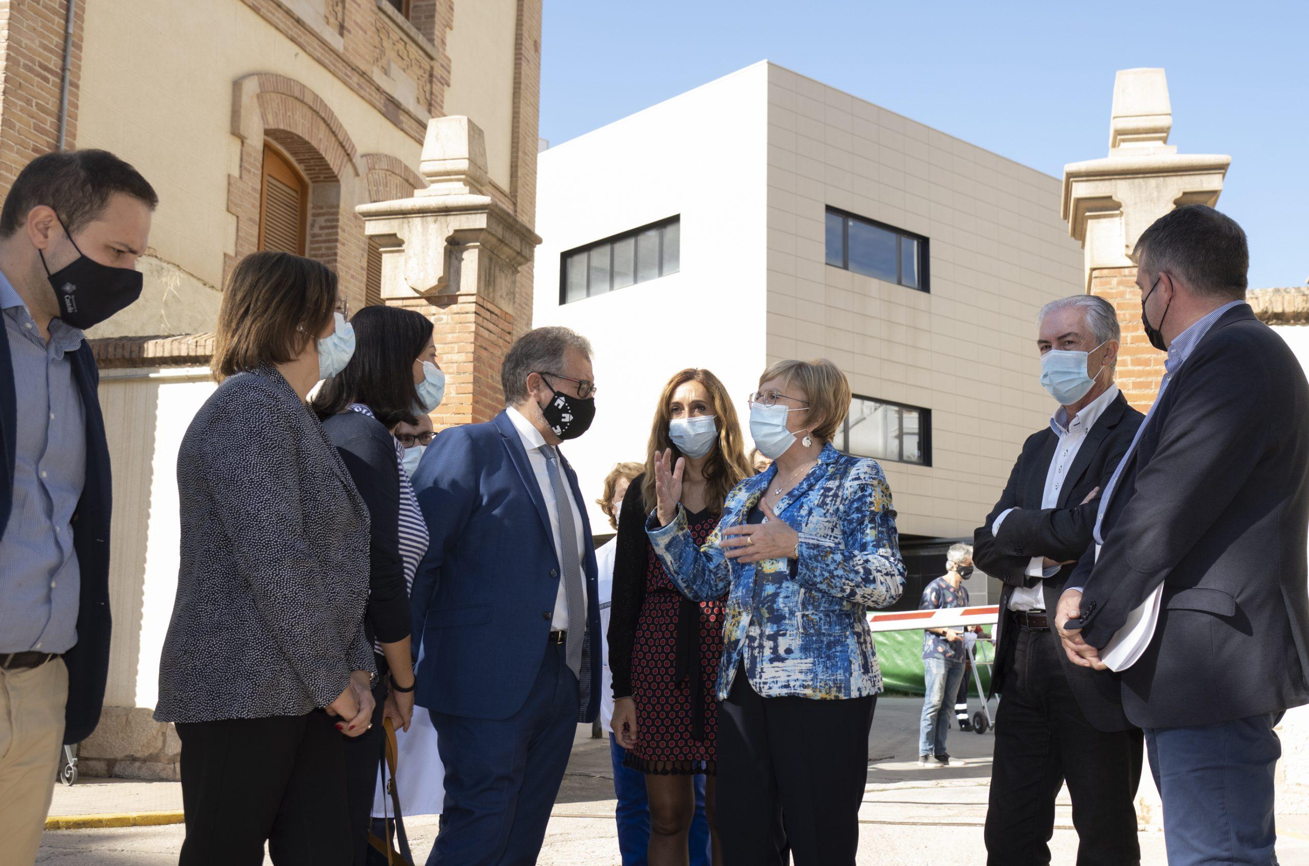 José Martí : «Hoy es un gran día para Castelló por el inicio de las obras del nuevo edificio oncológico del Hospital Provincial»