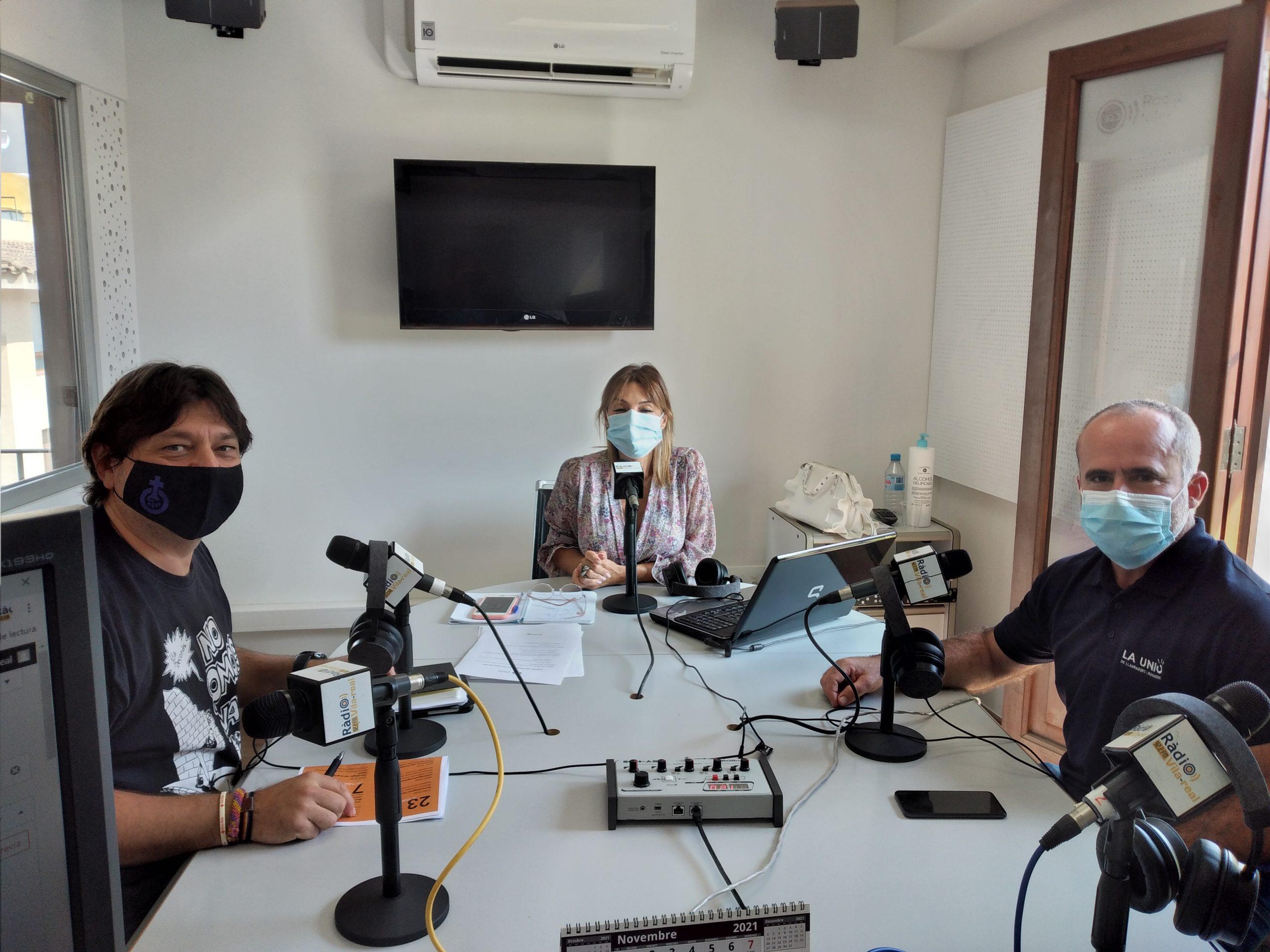 Entrevista a José Ramón Ventura Chalmeta concejal de Agricultura de Vila-real y al Secretario General de La Unió Carles Peris