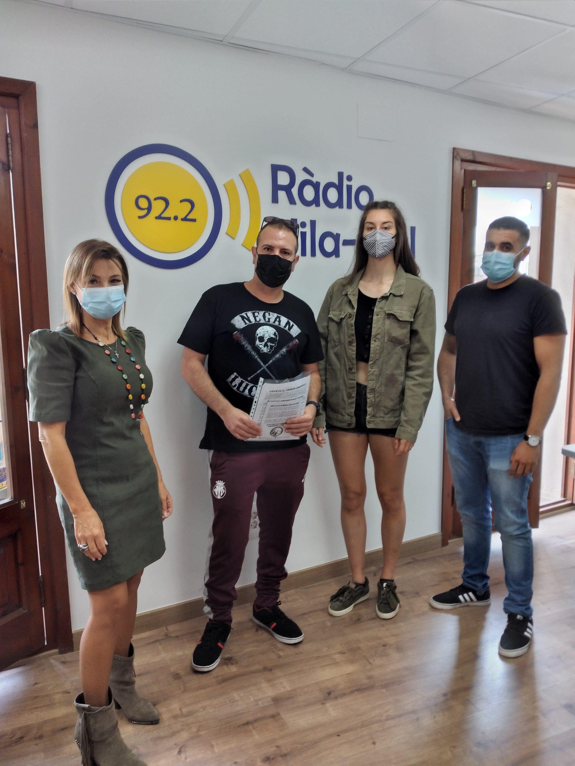 Entrevista al nuevo partido de Vila-real, Frente Obrero