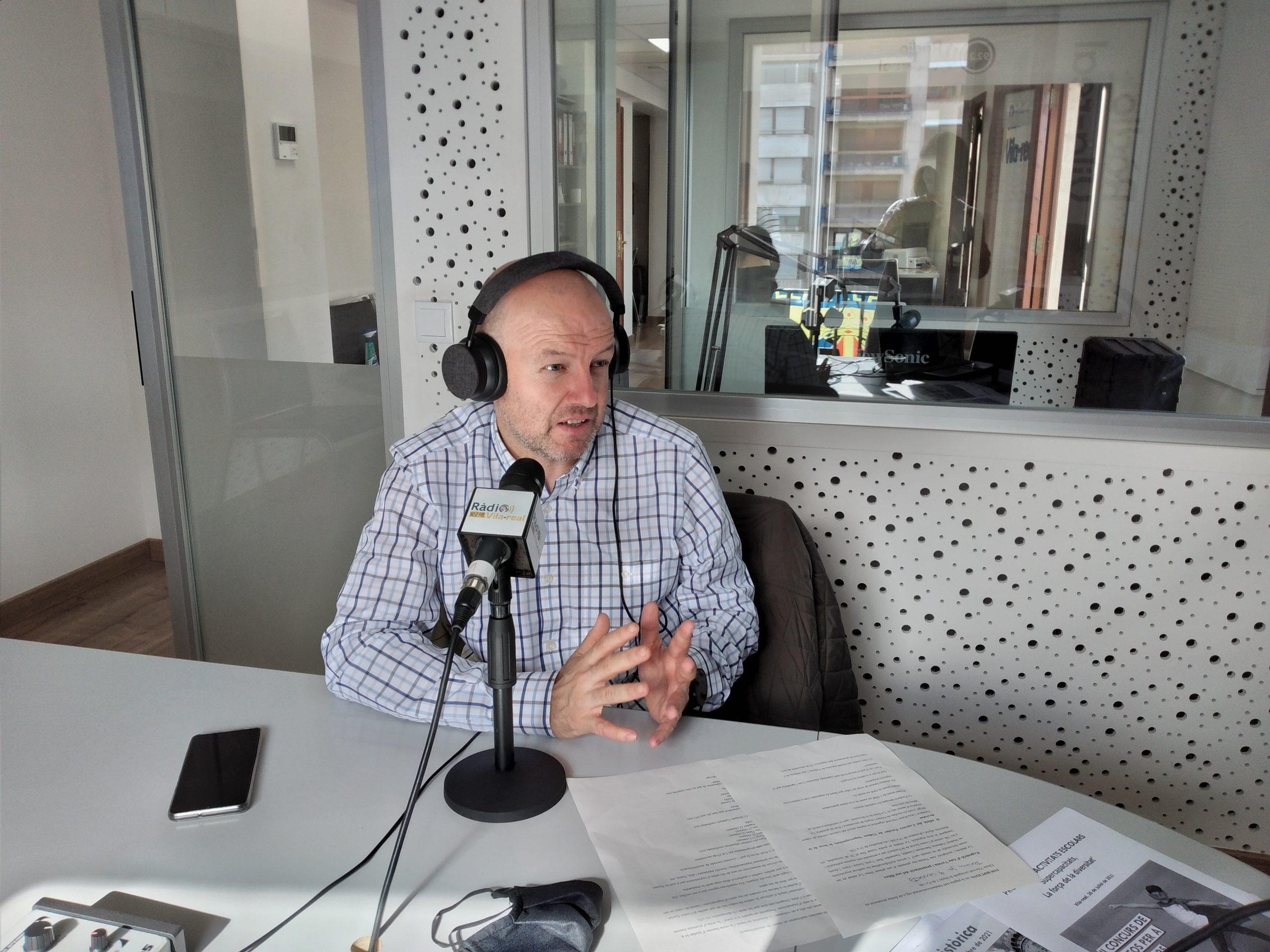 Entrevista al secretario de Fundació Caixa Rural Vila-real, Josep Ramos