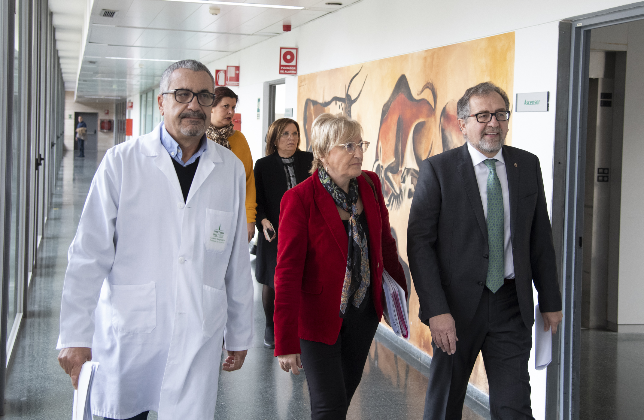José Martí tilda de «muy buena noticia» el próximo inicio de las obras del edificio de oncología del Hospital Provincial de Castellón